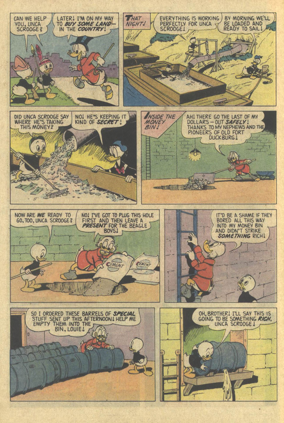 Read online Uncle Scrooge (1953) comic -  Issue #209 - 12