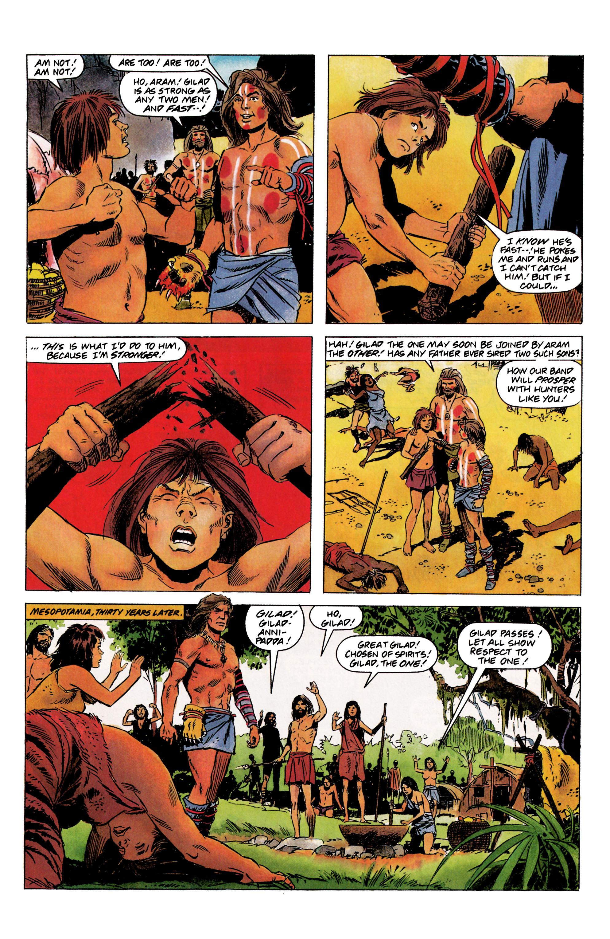 Read online Eternal Warrior (1992) comic -  Issue #1 - 6