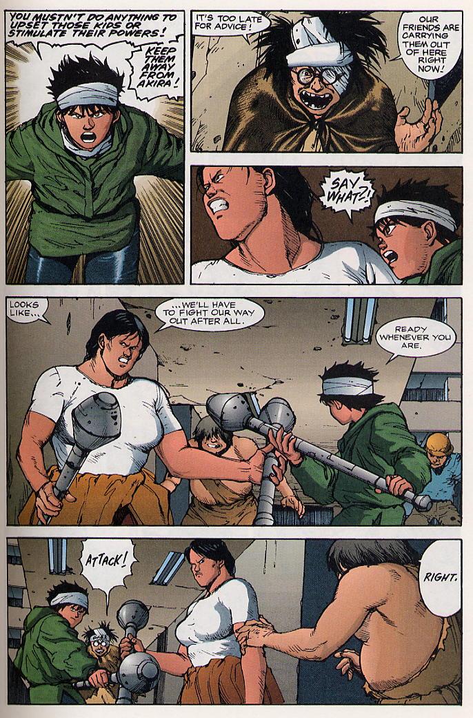 Read online Akira comic -  Issue #19 - 26