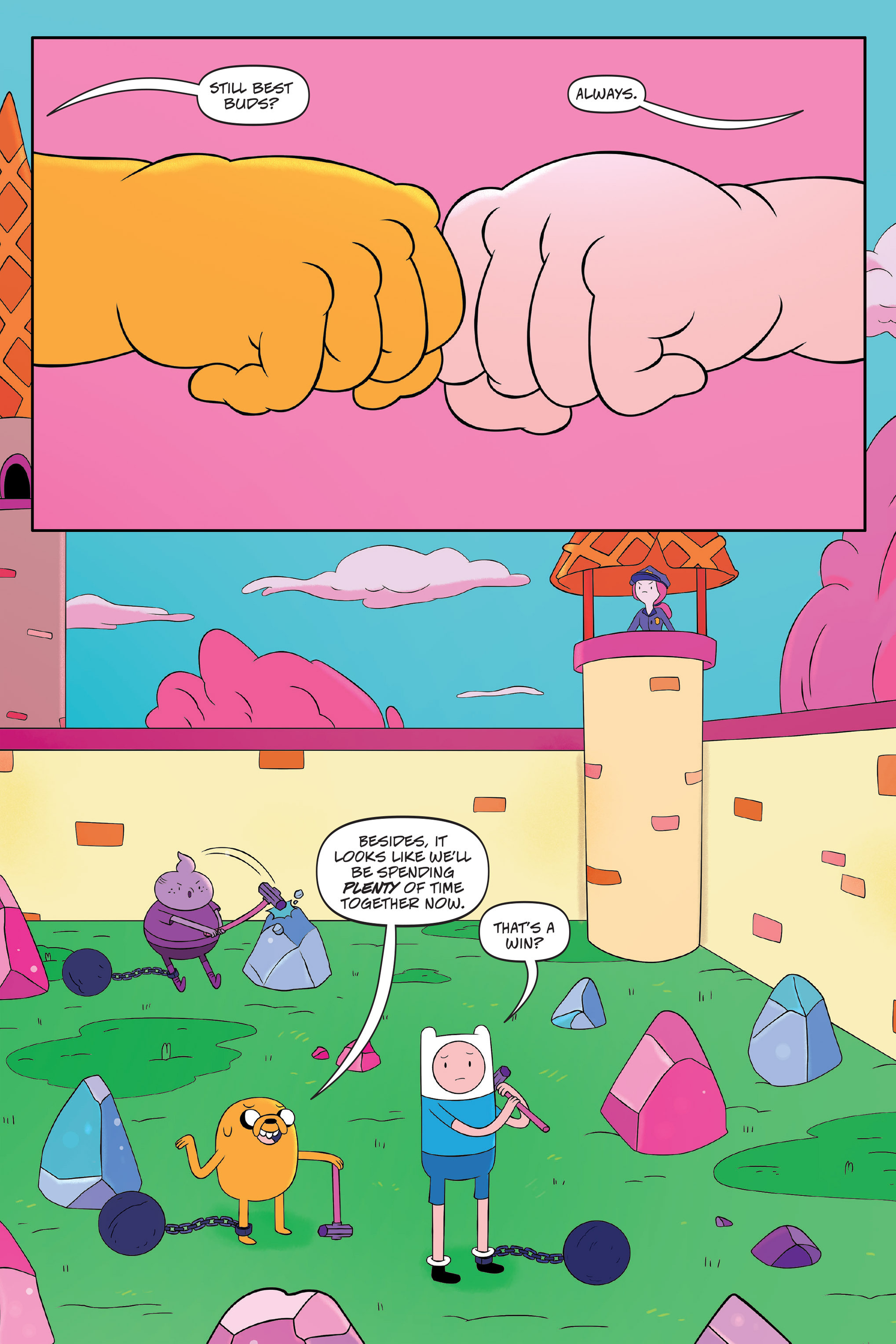 Read online Adventure Time: The Four Castles comic -  Issue #Adventure Time: The Four Castles TPB - 136