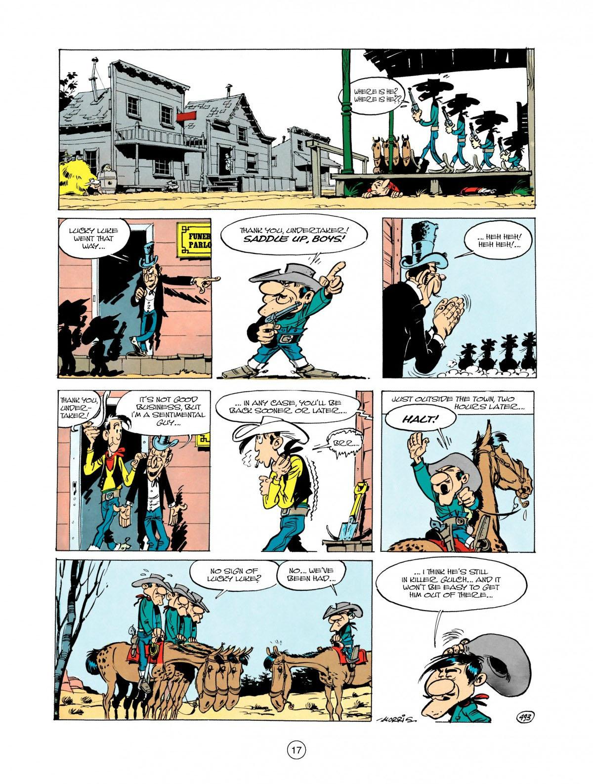 Read online A Lucky Luke Adventure comic -  Issue #28 - 18