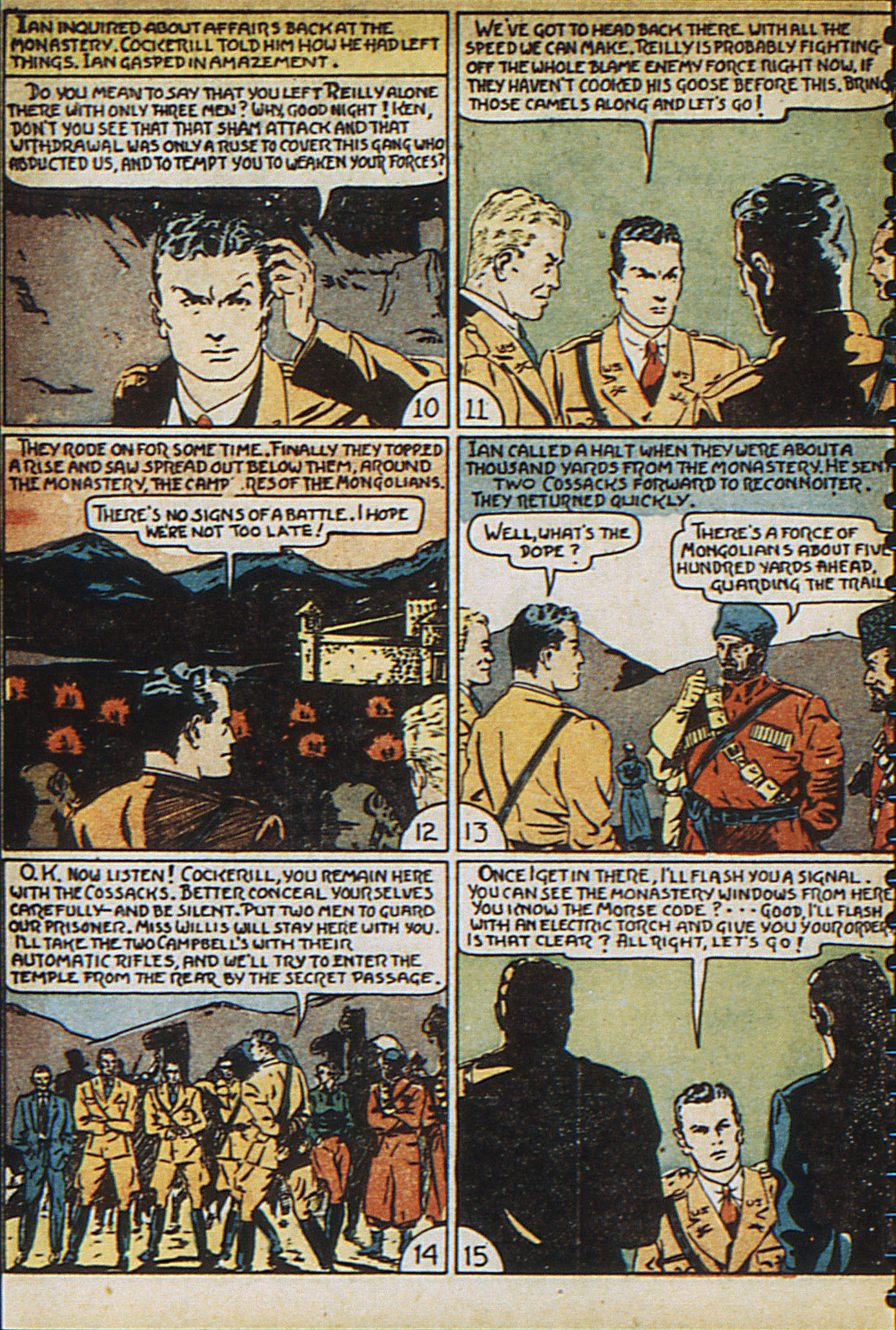 Read online Adventure Comics (1938) comic -  Issue #23 - 34