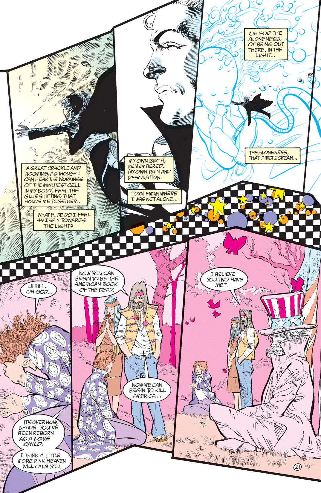 Read online Shade, the Changing Man comic -  Issue #8 - 18