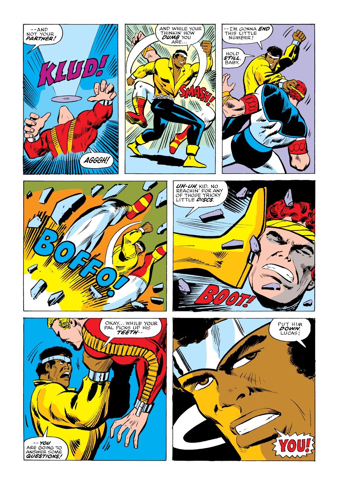 Read online Marvel Masterworks: Luke Cage, Power Man comic -  Issue # TPB 2 (Part 2) - 22
