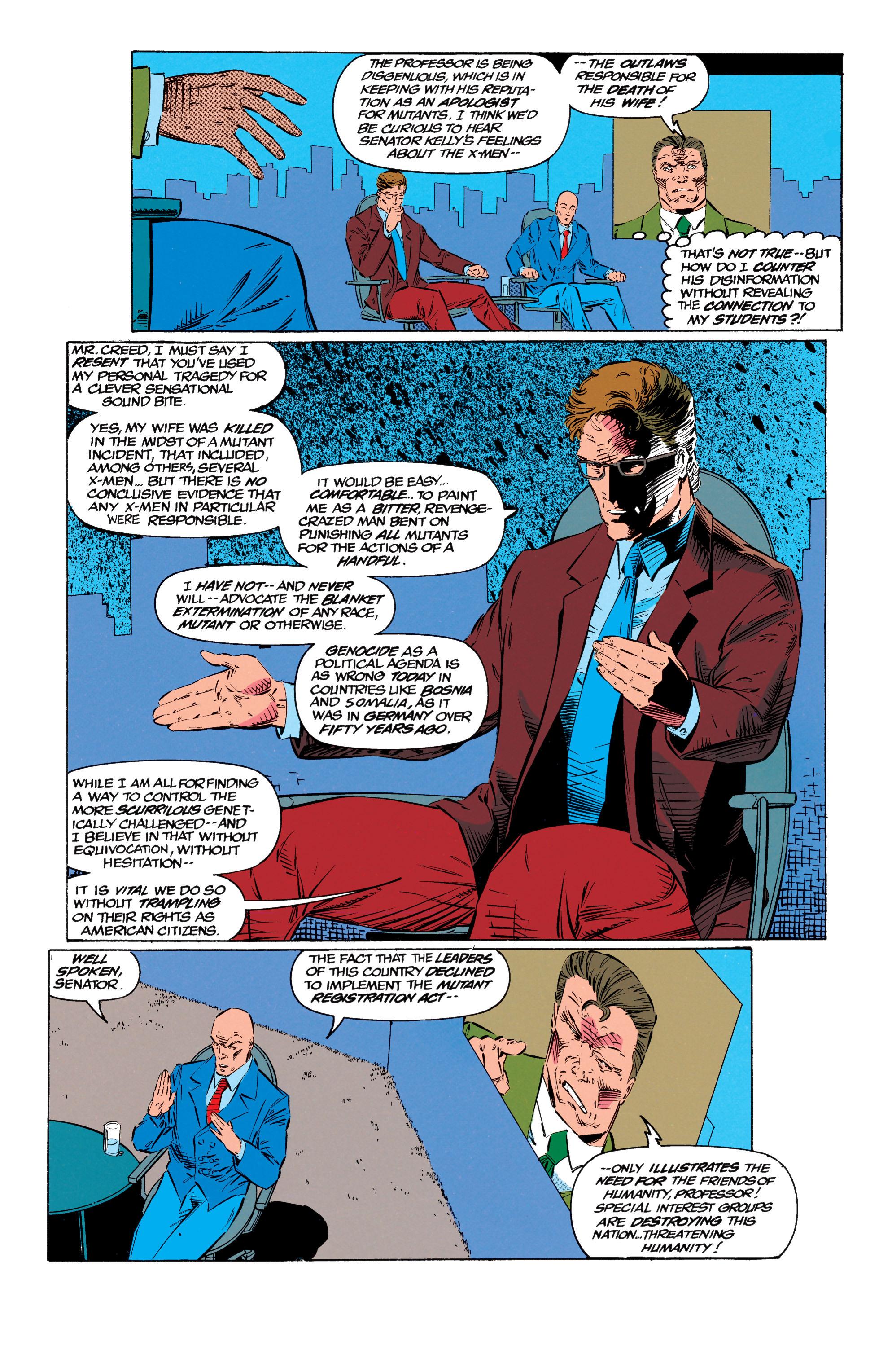 Read online Uncanny X-Men (1963) comic -  Issue #299 - 10