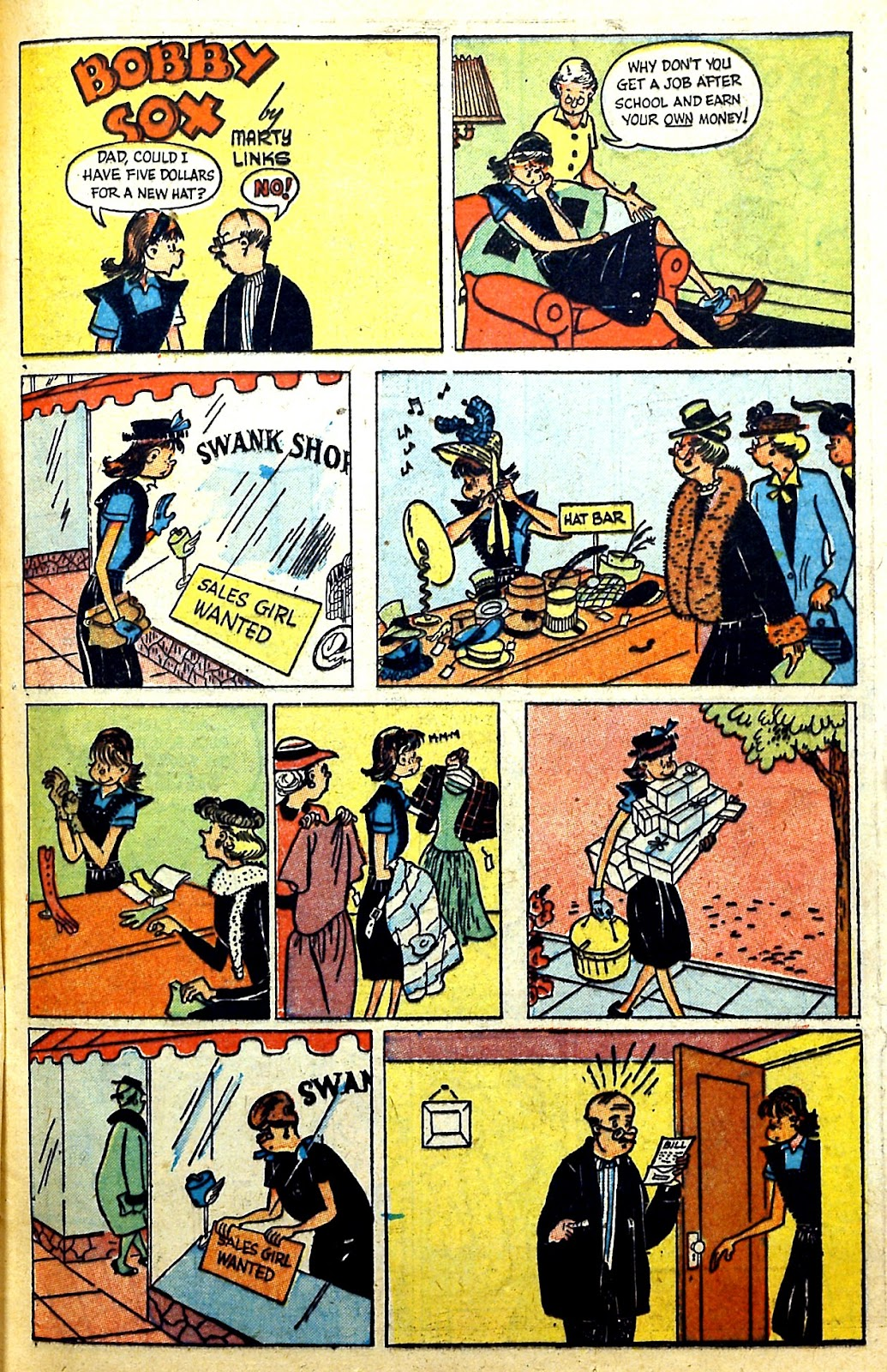Read online Famous Funnies comic -  Issue #166 - 37