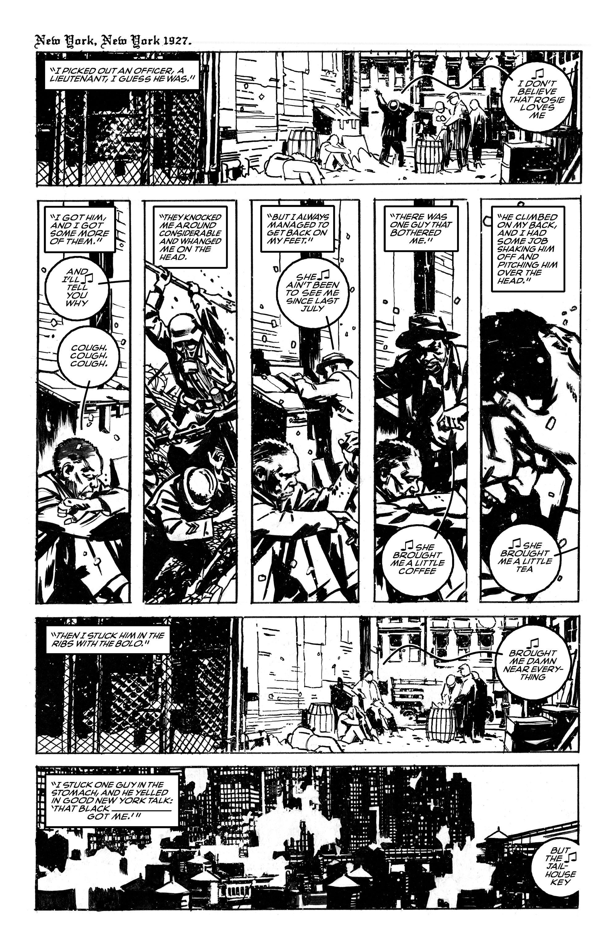 Read online Black Death in America comic -  Issue # Full - 8