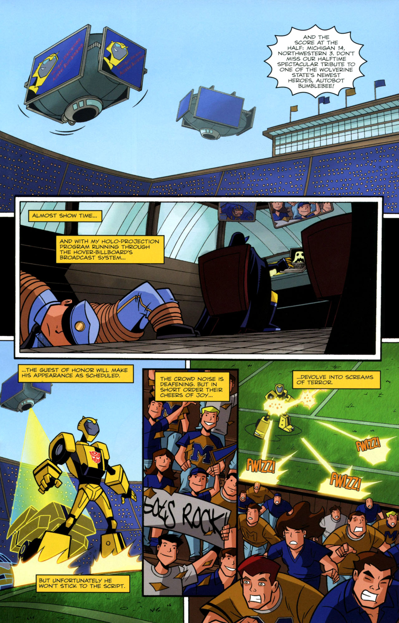 Read online Transformers Animated: The Arrival comic -  Issue #2 - 16