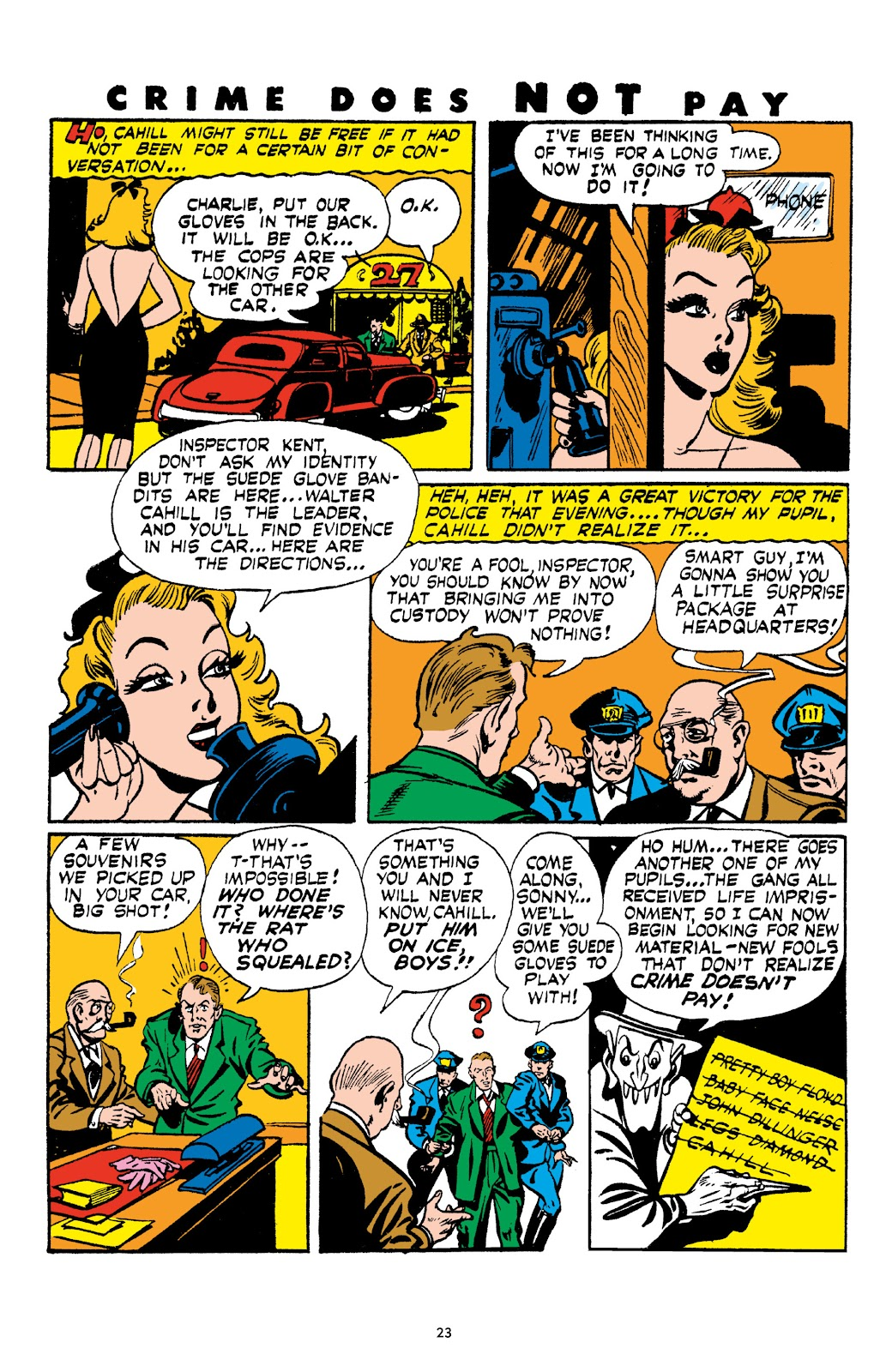 Read online Crime Does Not Pay Archives comic -  Issue # TPB 4 (Part 1) - 23