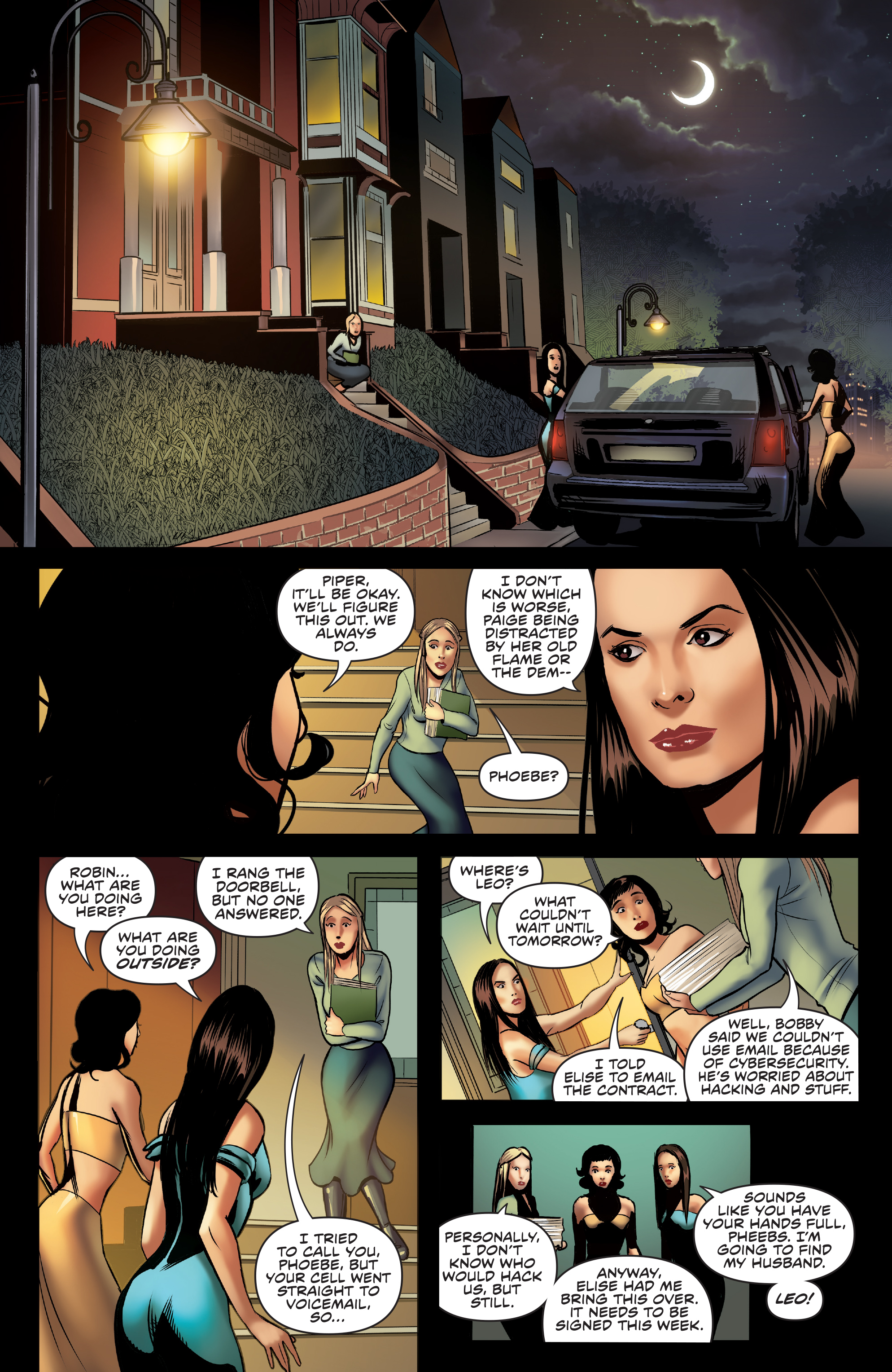 Read online Charmed (2017) comic -  Issue #3 - 10