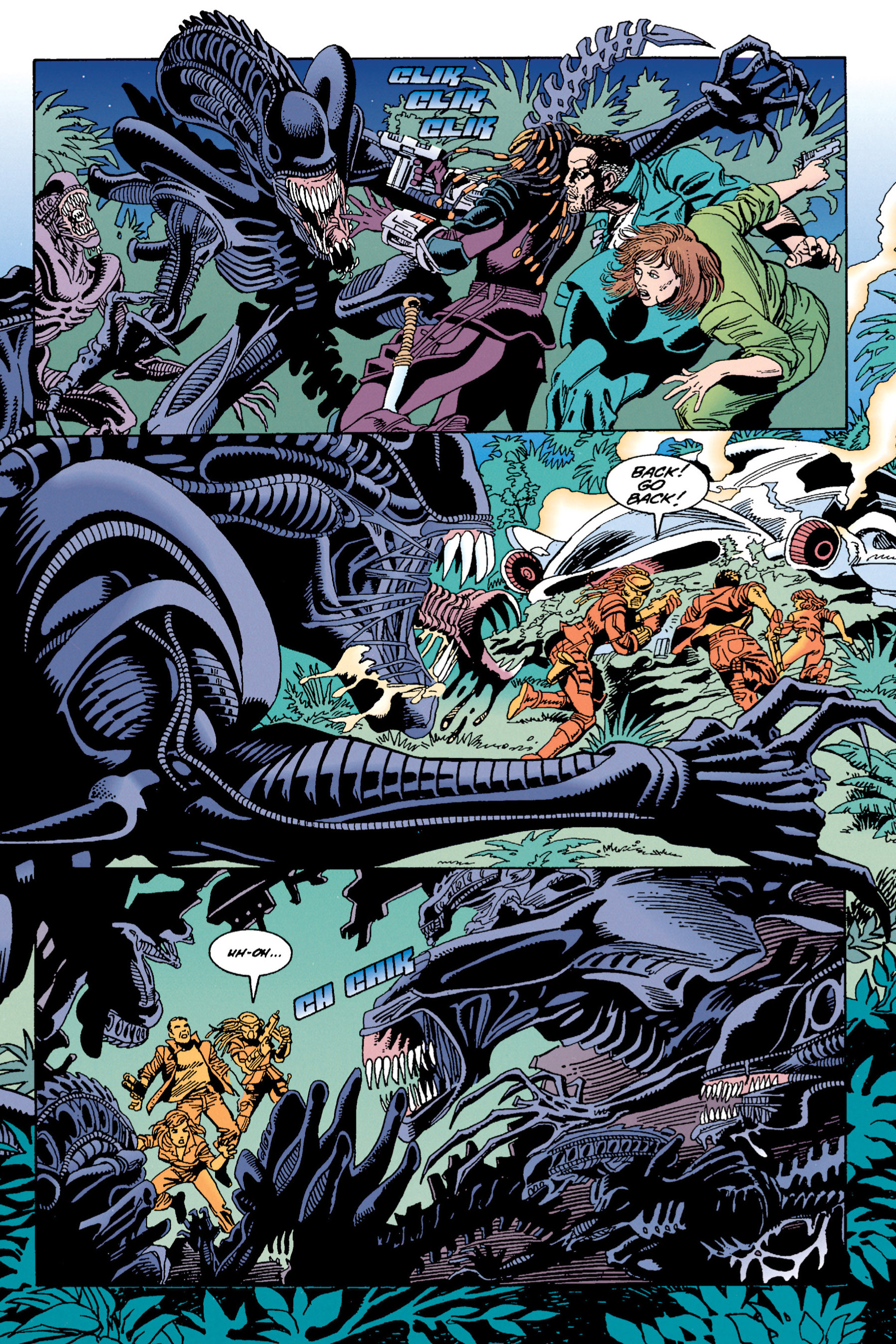 Read online Aliens vs. Predator Omnibus comic -  Issue # _TPB 1 Part 4 - 18