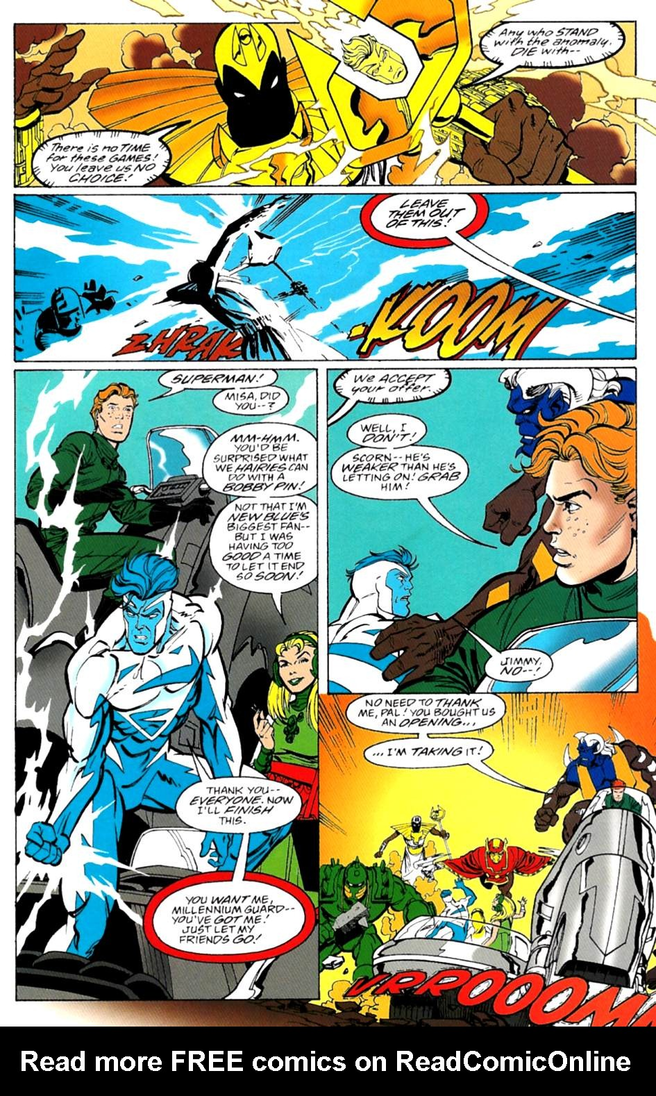 Read online Adventures of Superman (1987) comic -  Issue #553 - 15