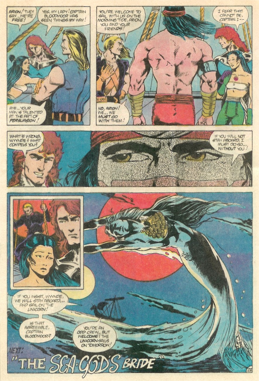 Read online Arion, Lord of Atlantis comic -  Issue #20 - 24