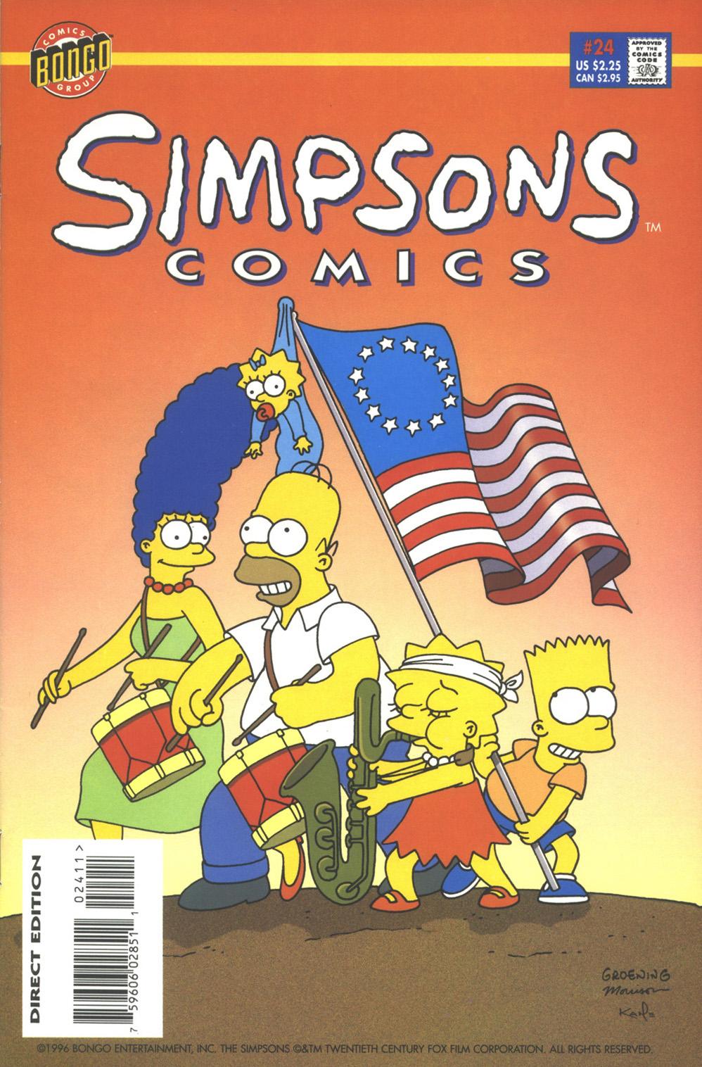Read online Simpsons Comics comic -  Issue #24 - 1
