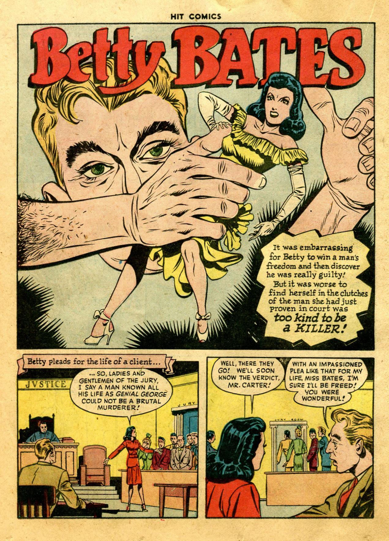 Read online Hit Comics comic -  Issue #44 - 30