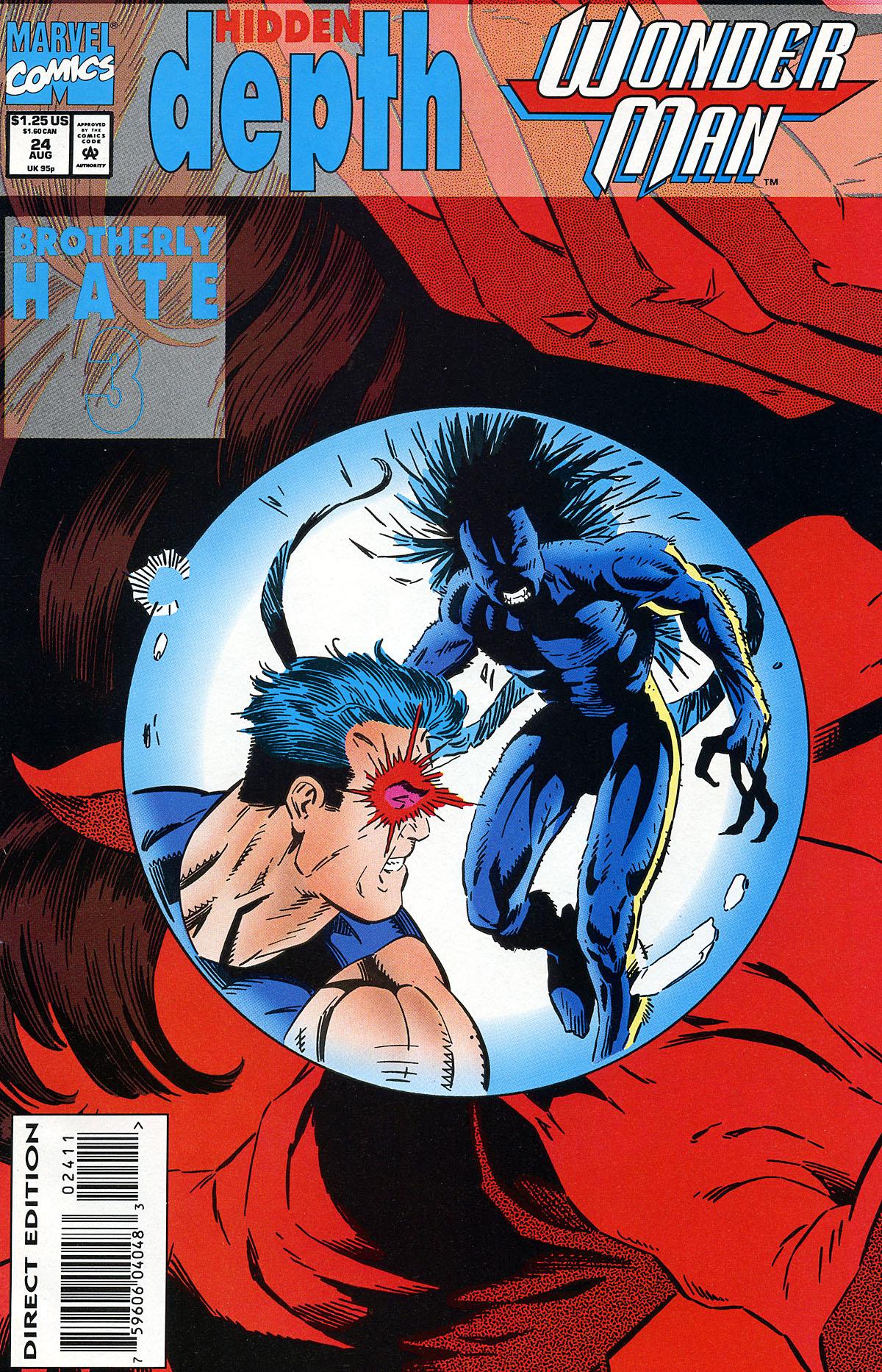Read online Wonder Man (1991) comic -  Issue #24 - 1
