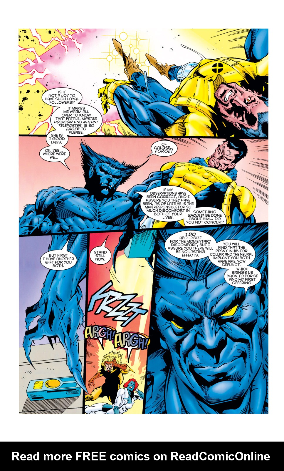 Read online X-Factor (1986) comic -  Issue #125 - 31