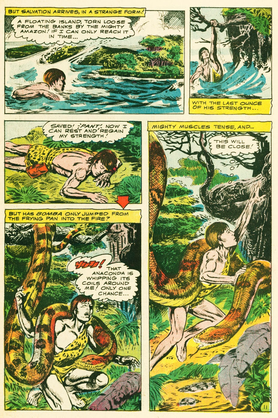 Bomba, The Jungle Boy issue 1 - Page 12