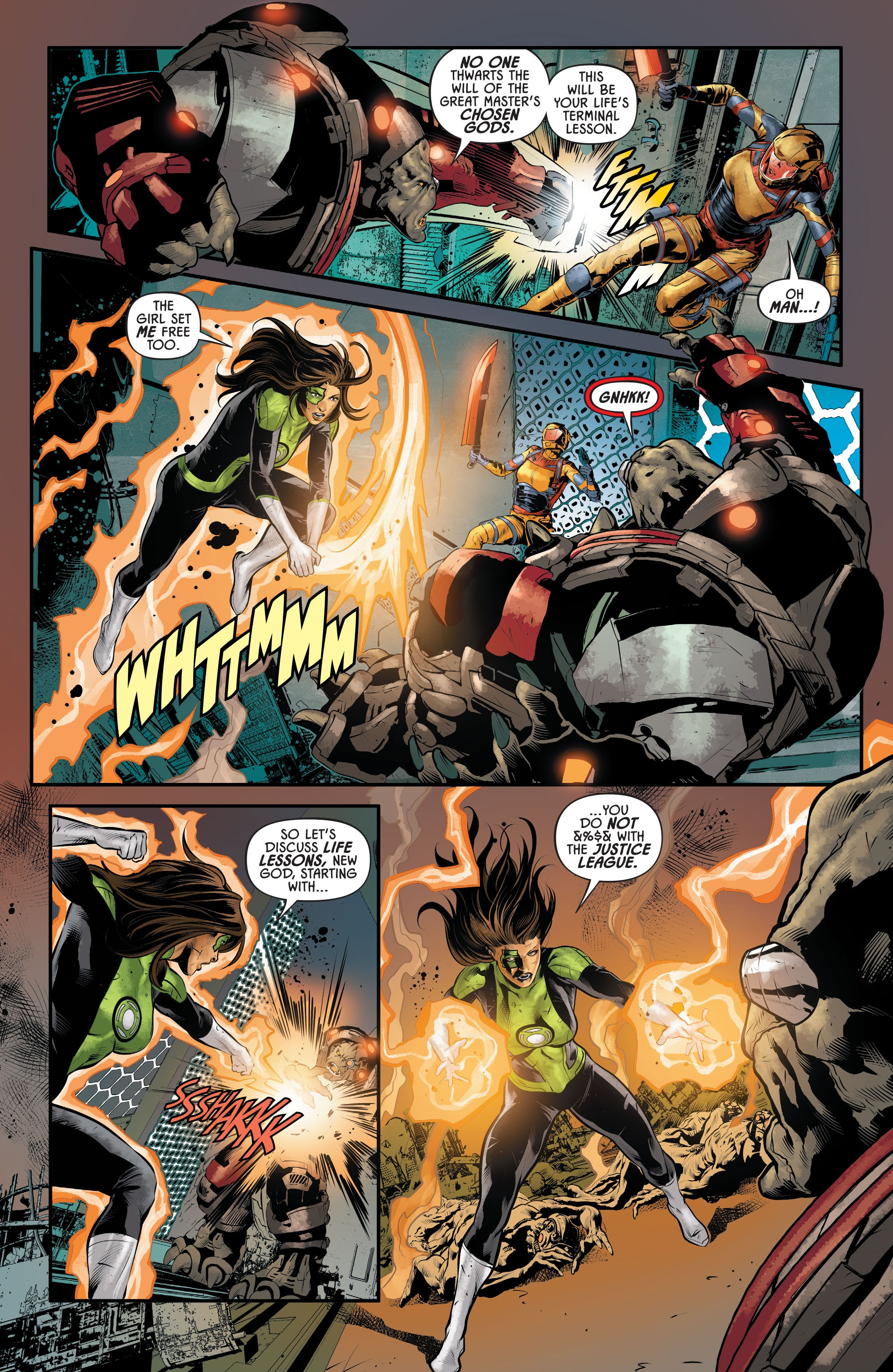 Justice League Odyssey #17 #17 - English 19