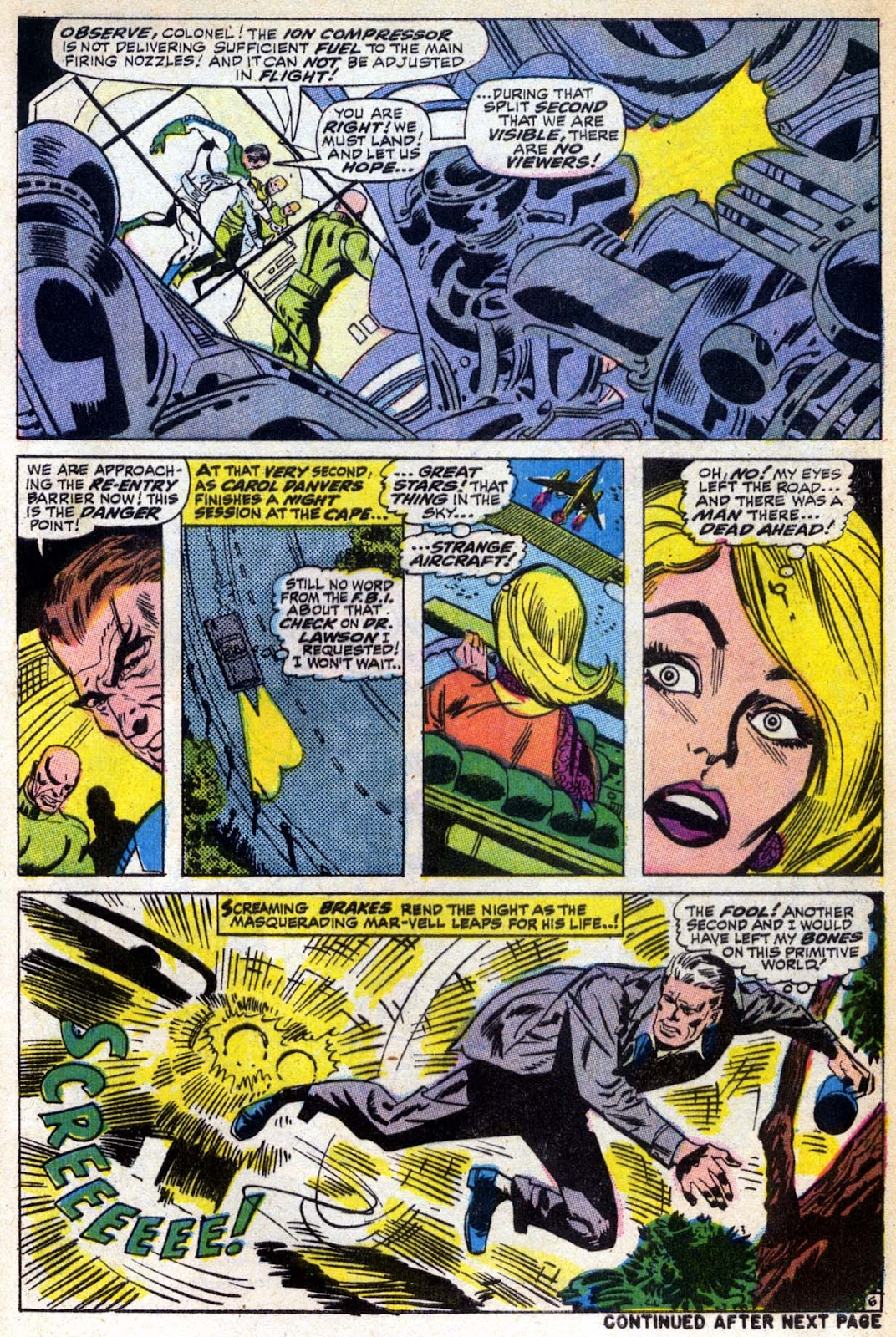Captain Marvel (1968) Issue #6 #6 - English 7