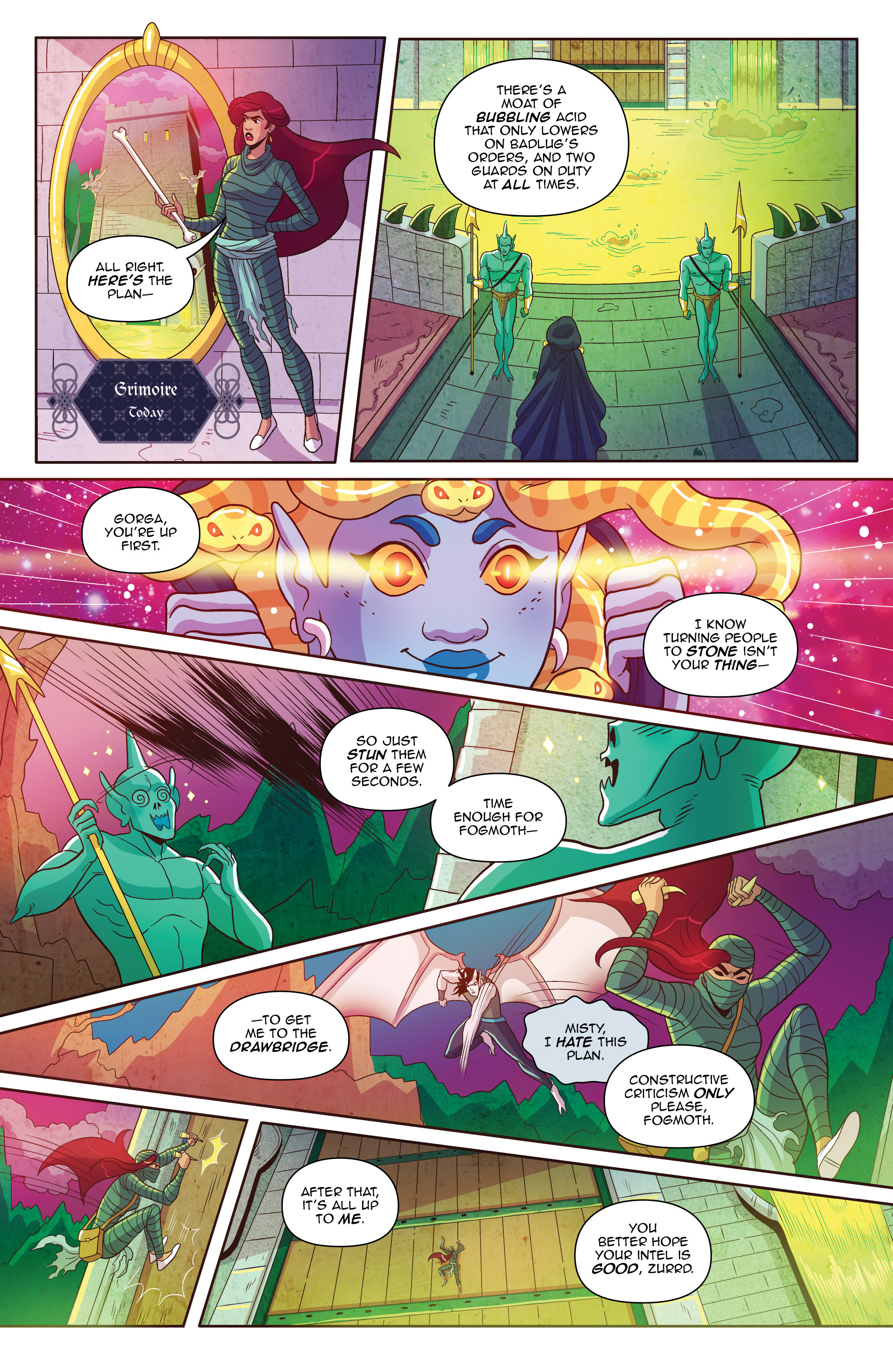 Read online Another Castle comic -  Issue #2 - 18
