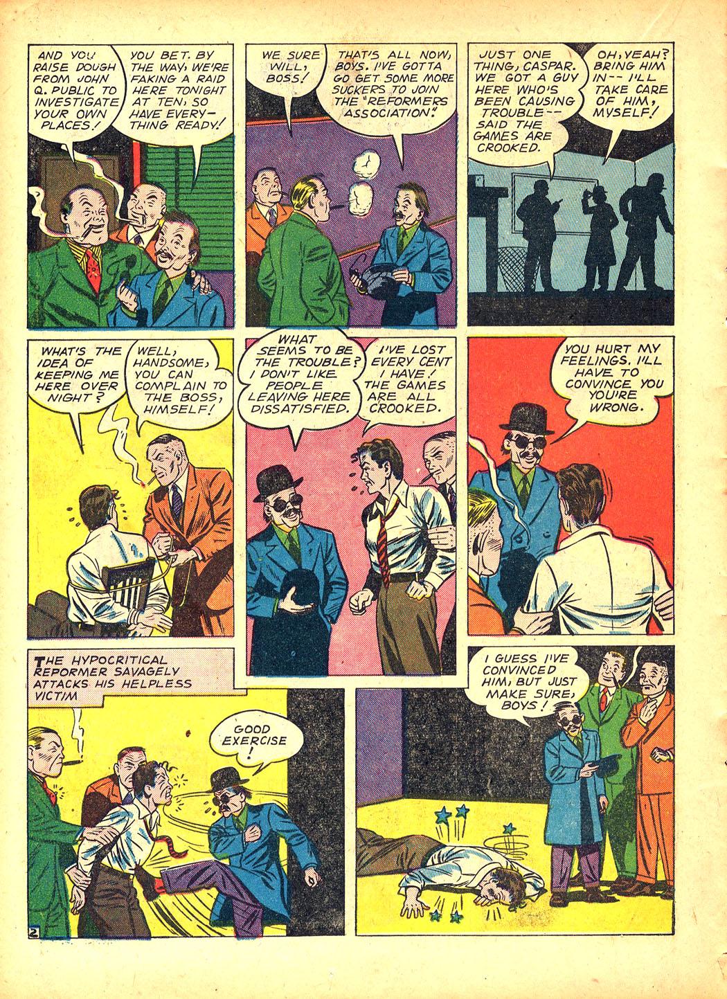 Read online Sensation (Mystery) Comics comic -  Issue #5 - 26