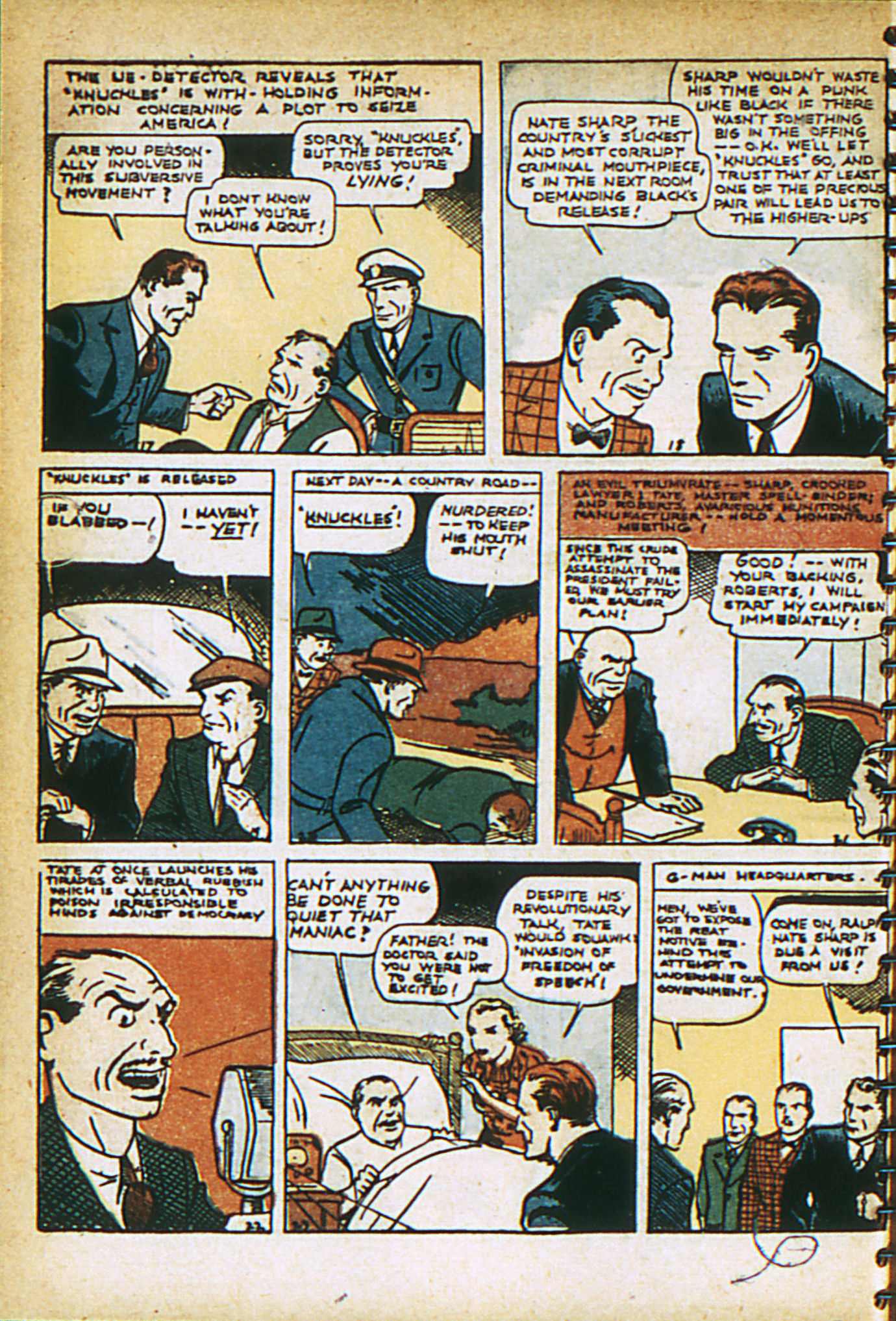 Read online Adventure Comics (1938) comic -  Issue #29 - 19