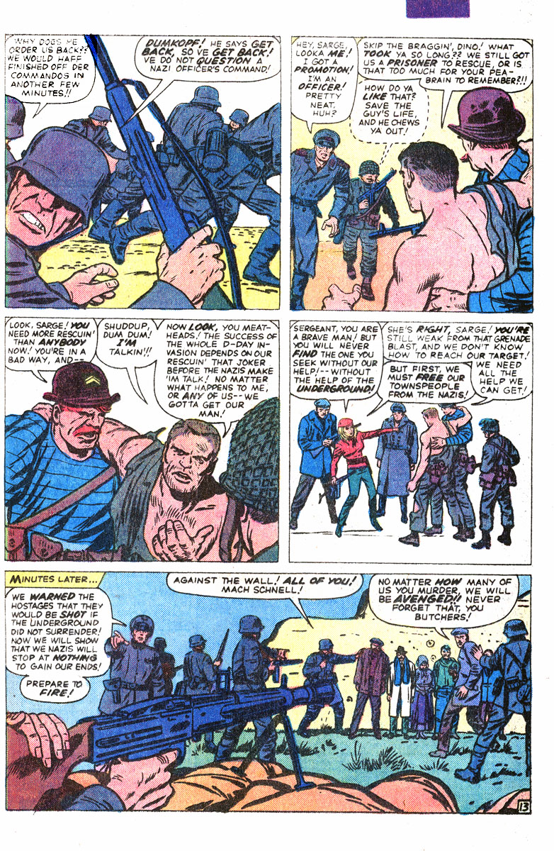 Read online Sgt. Fury comic -  Issue #167 - 22