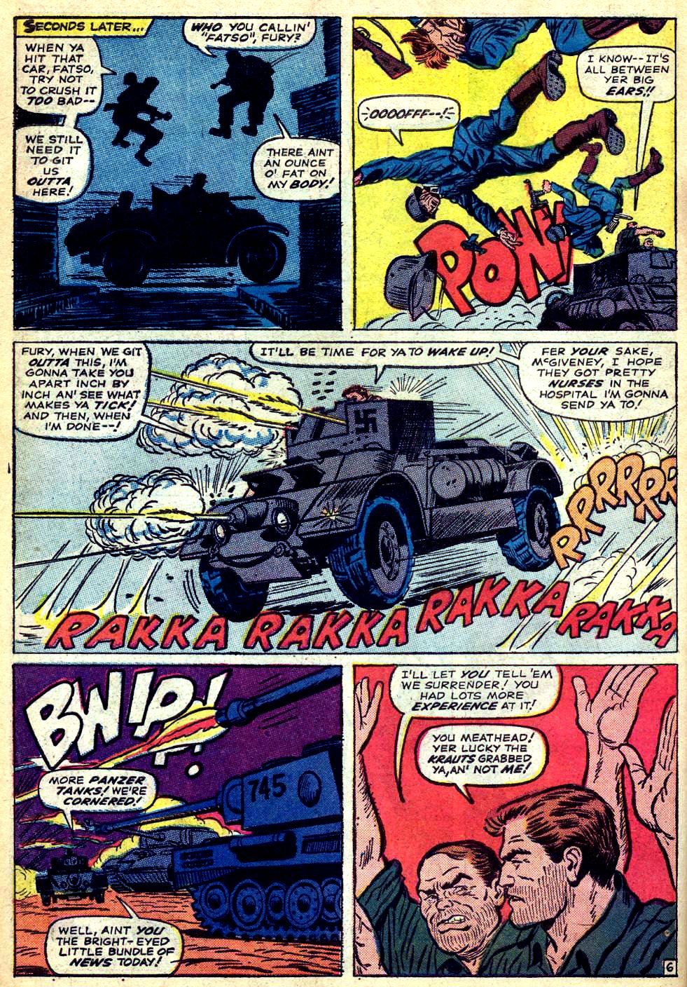 Read online Sgt. Fury comic -  Issue #22 - 10