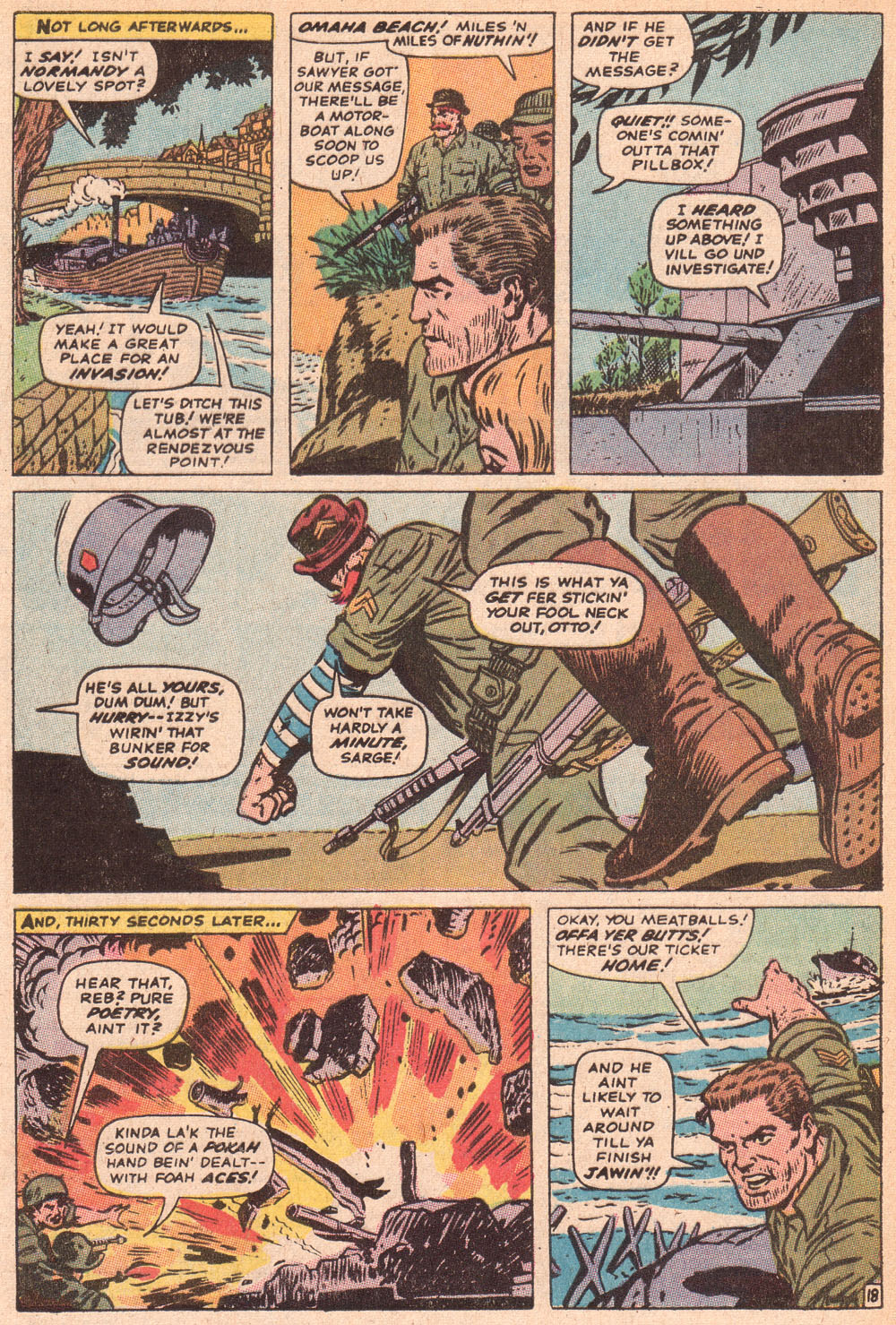 Read online Sgt. Fury comic -  Issue #80 - 28