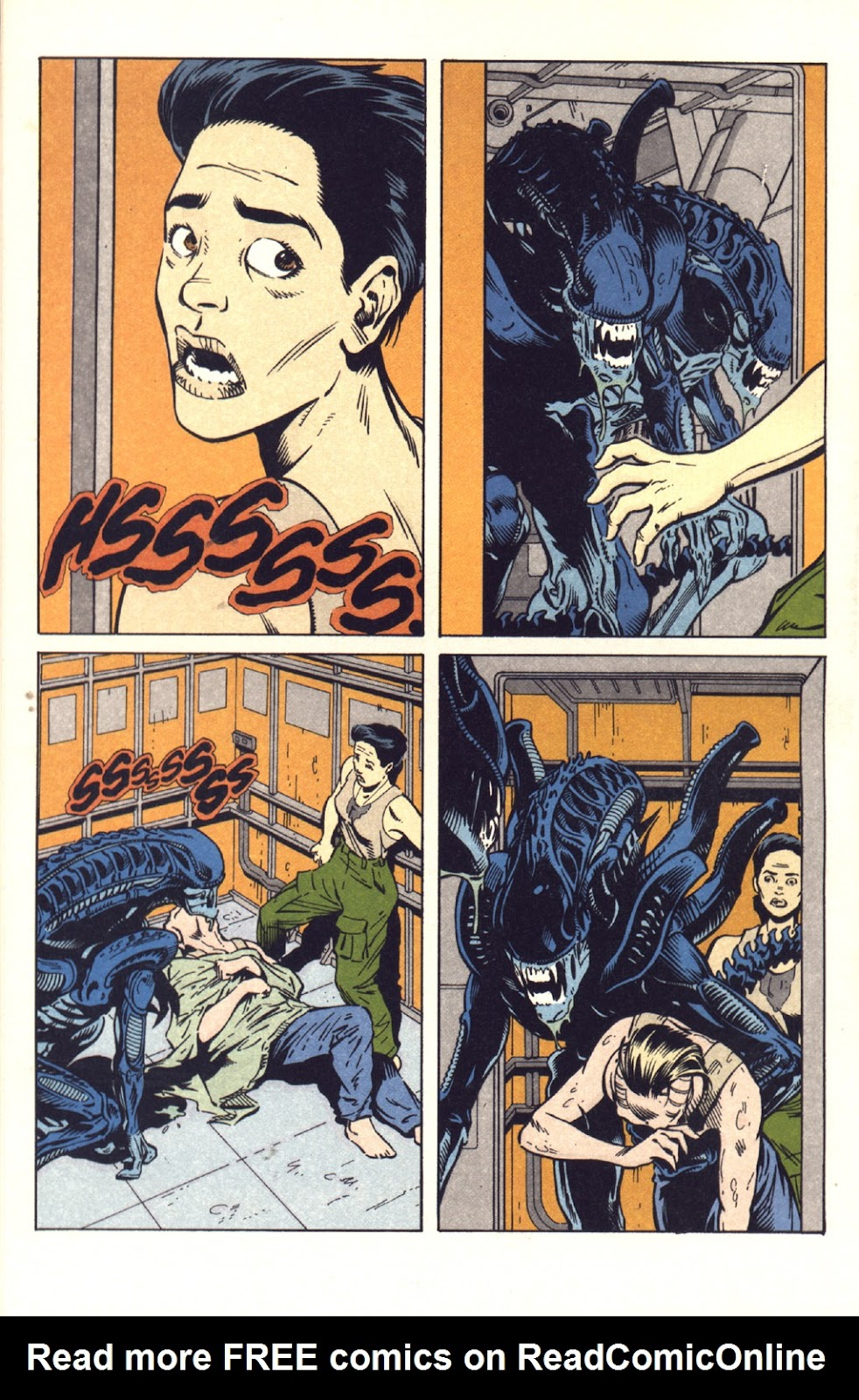 Read online Aliens: Colonial Marines comic -  Issue #9 - 19