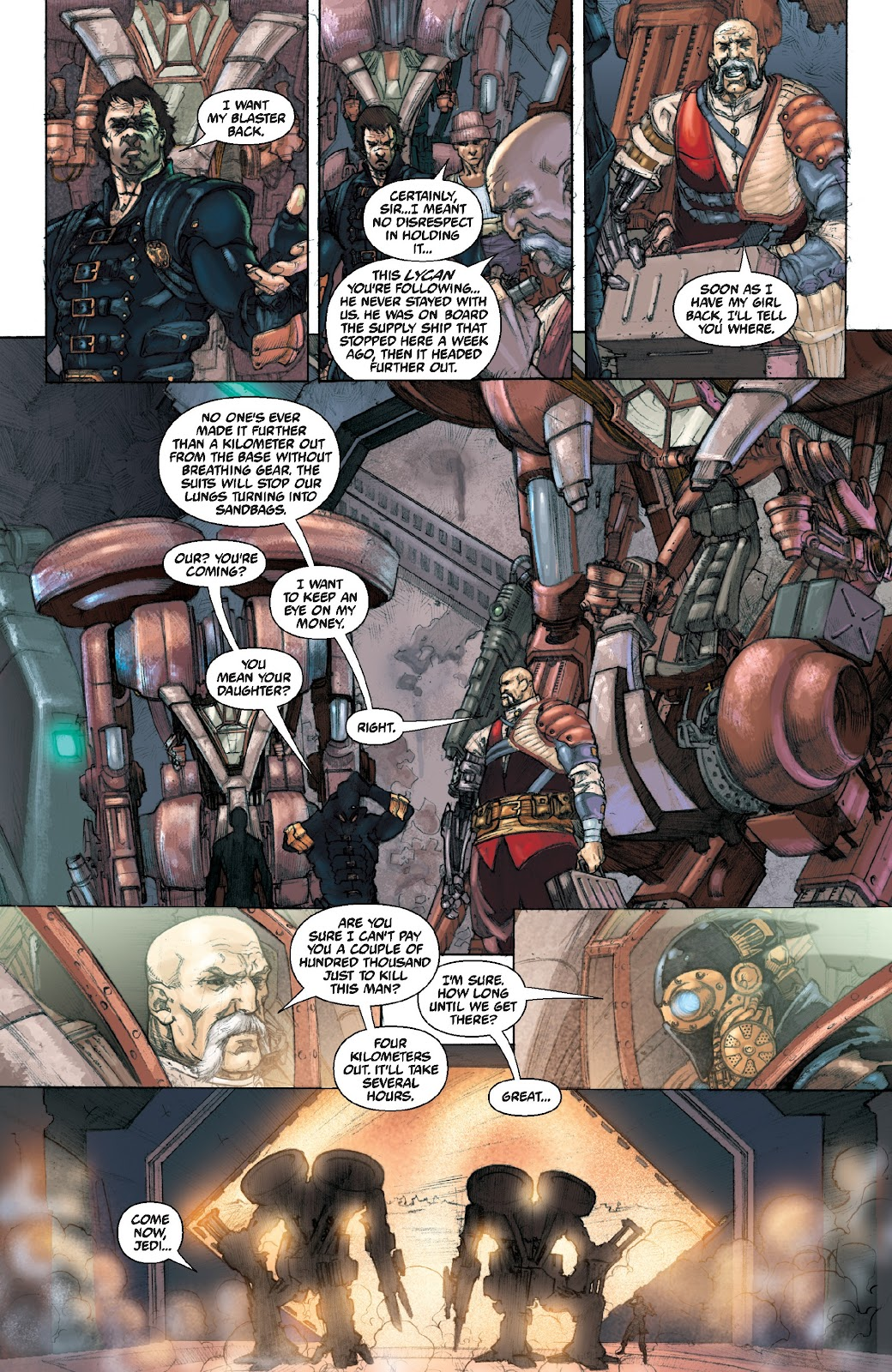 Read online Star Wars Legends Epic Collection: The Menace Revealed comic -  Issue # TPB (Part 4) - 97