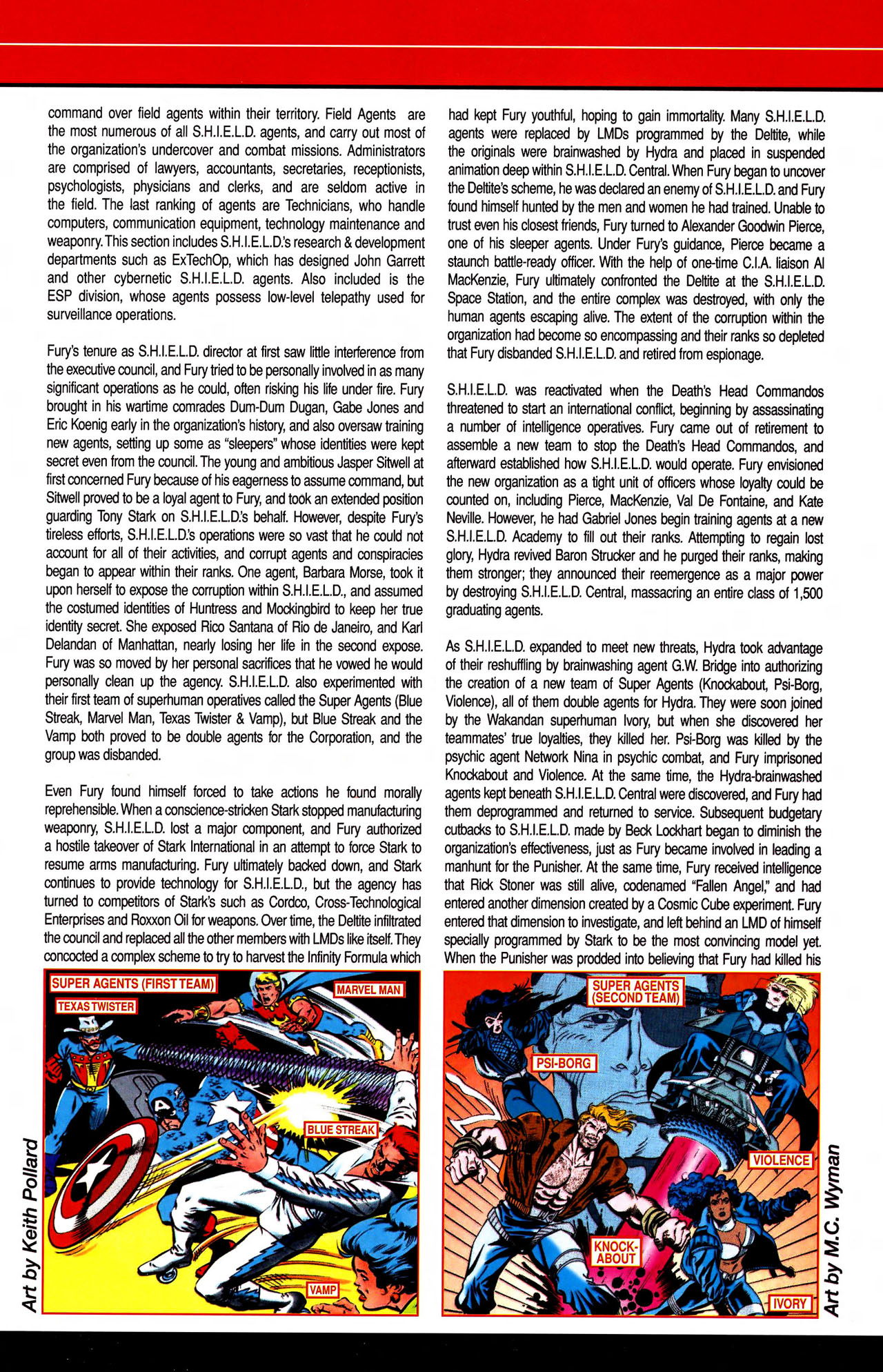 Read online All-New Official Handbook of the Marvel Universe A to Z comic -  Issue #10 - 11
