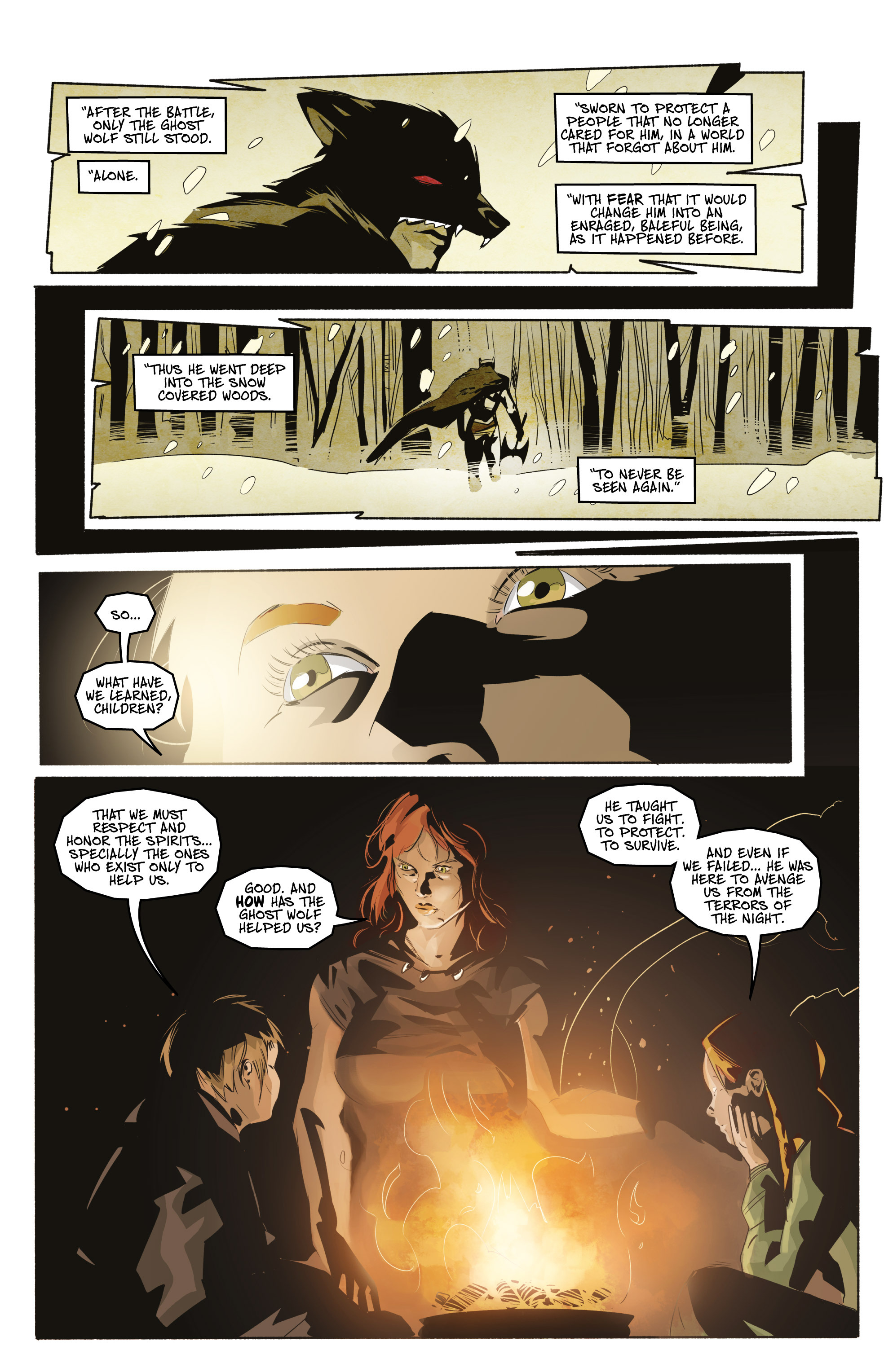 Read online Ghost Wolf comic -  Issue #3 - 4