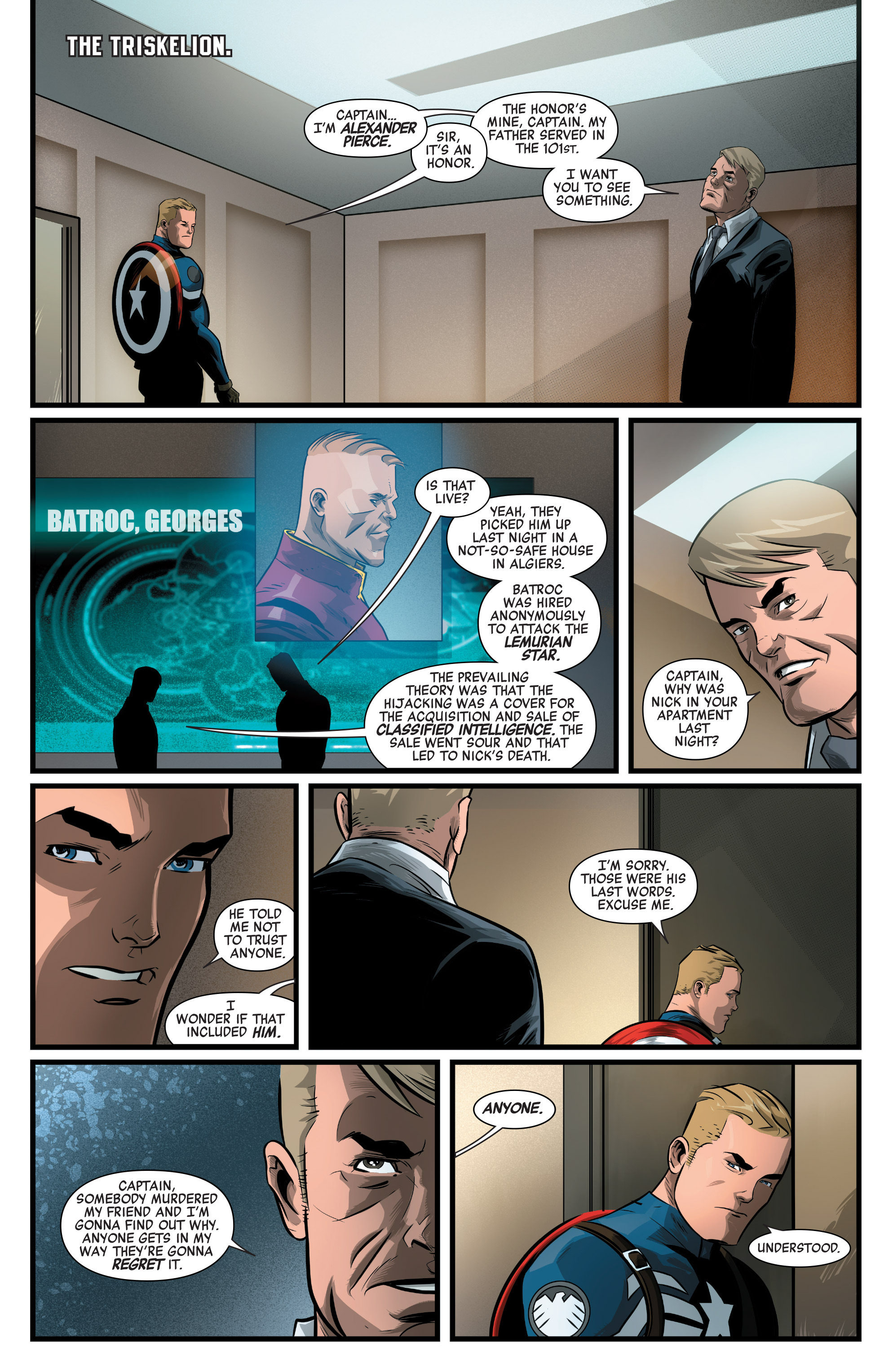 Read online Captain America: Civil War Prelude comic -  Issue #3 - 15