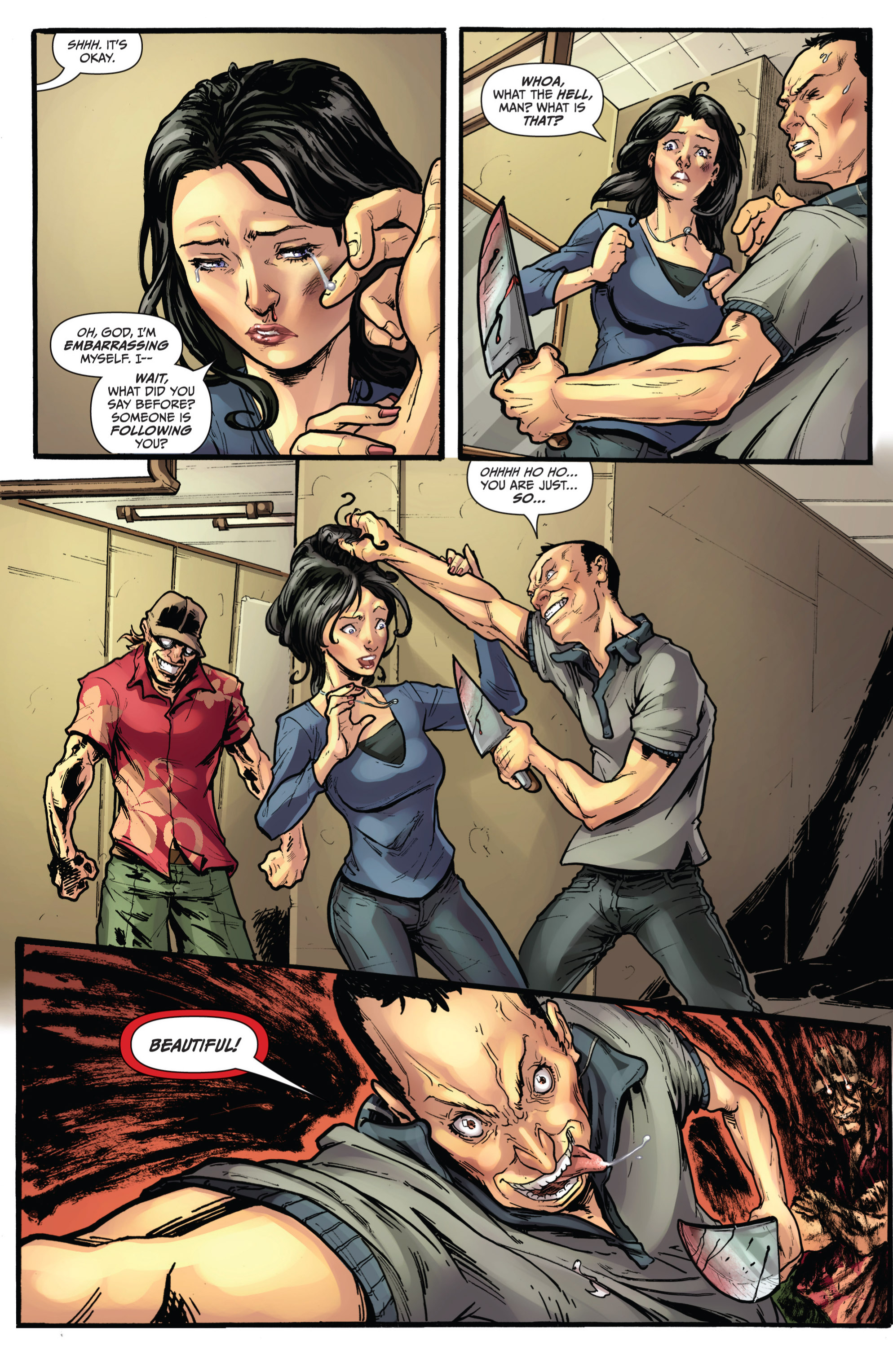 Read online Grimm Fairy Tales presents Grimm Universe comic -  Issue # TPB - 85