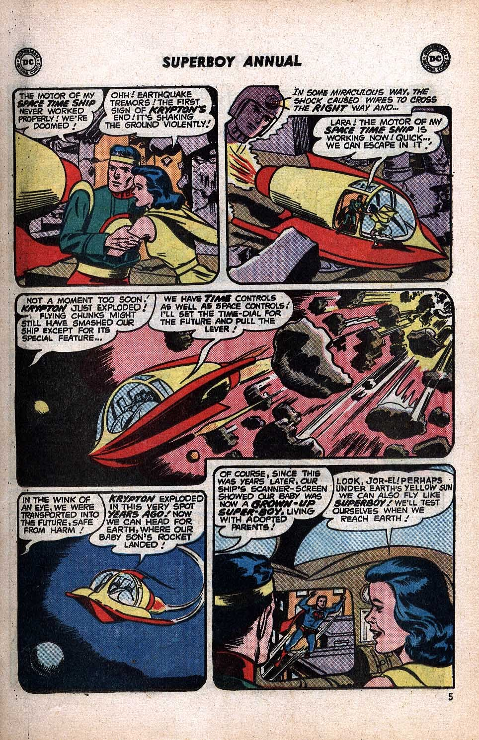 Superboy (1949) issue Annual 1 - Page 7