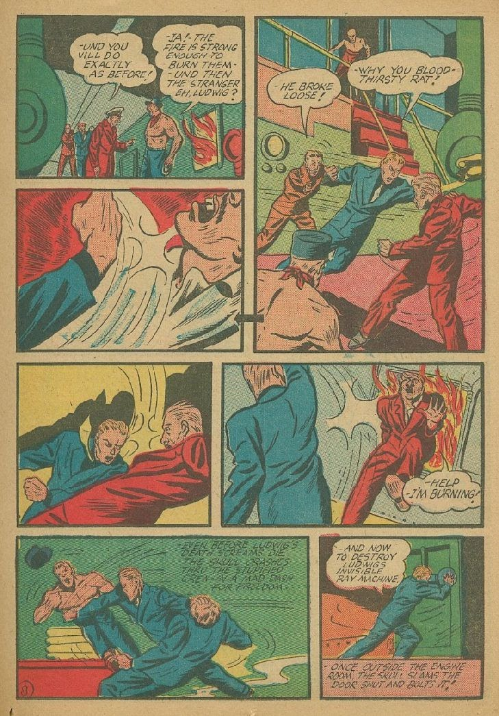 Read online Amazing Man Comics comic -  Issue #9 - 28