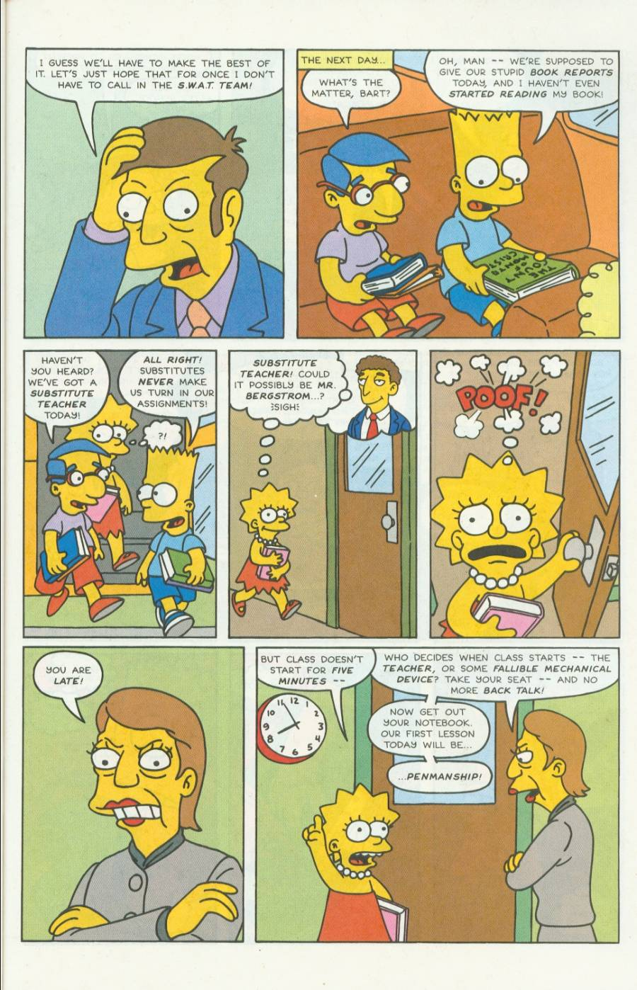 Read online Simpsons Comics comic -  Issue #4 - 16