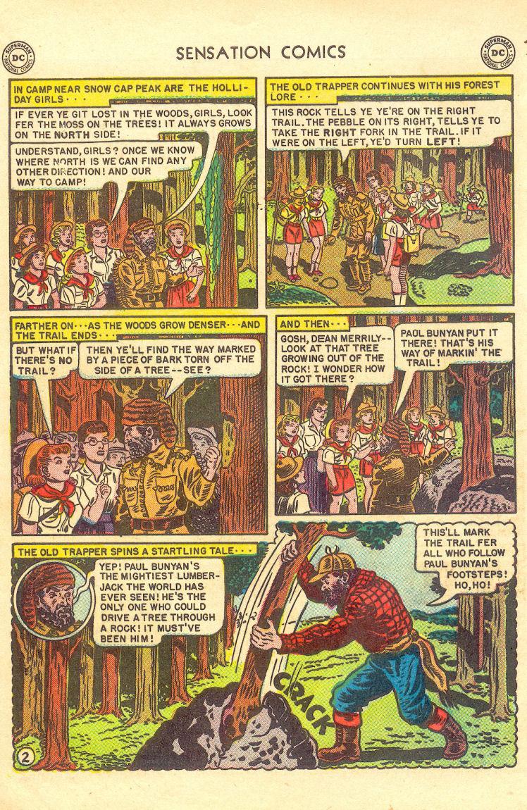 Read online Sensation (Mystery) Comics comic -  Issue #105 - 4