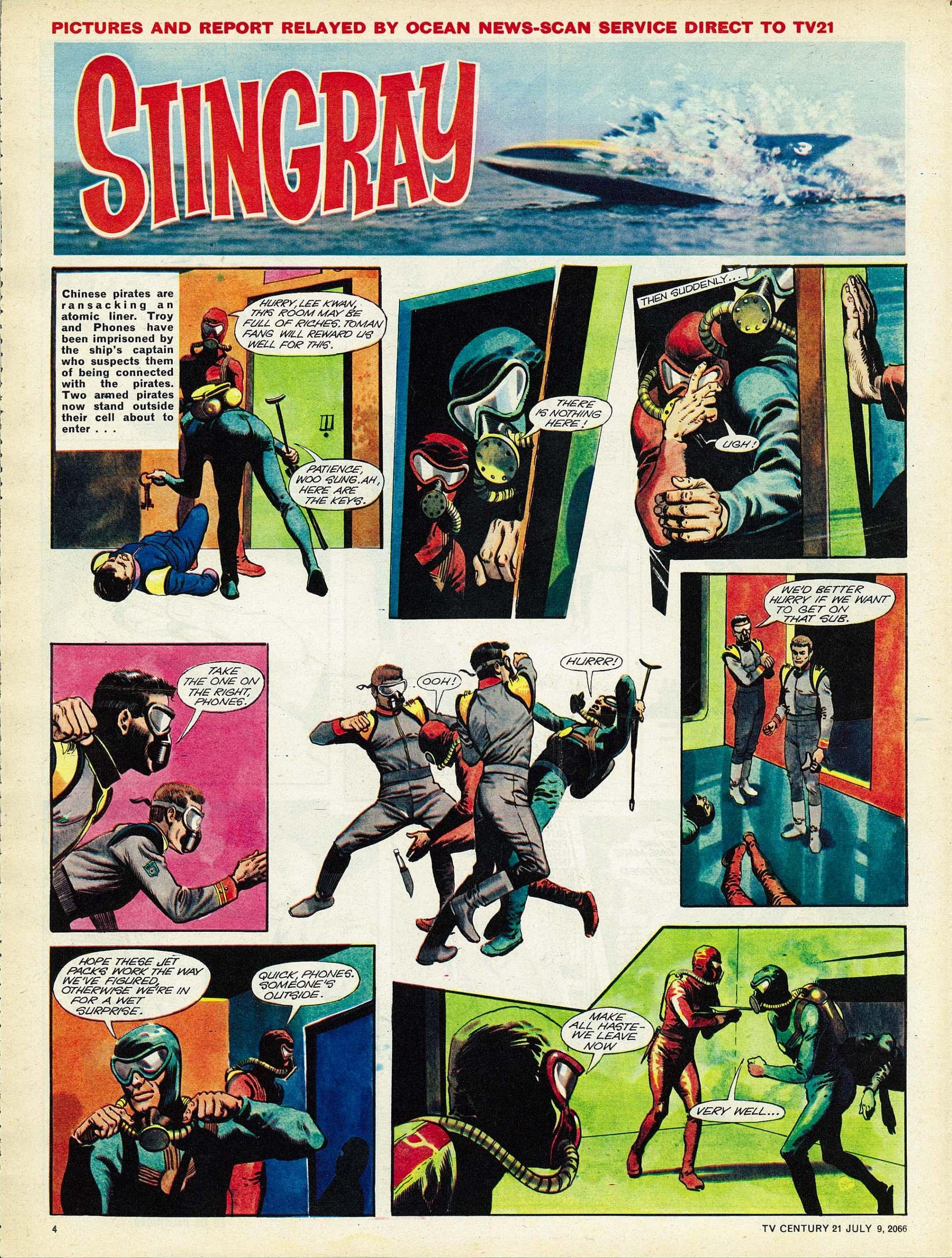 Read online TV Century 21 (TV 21) comic -  Issue #77 - 4