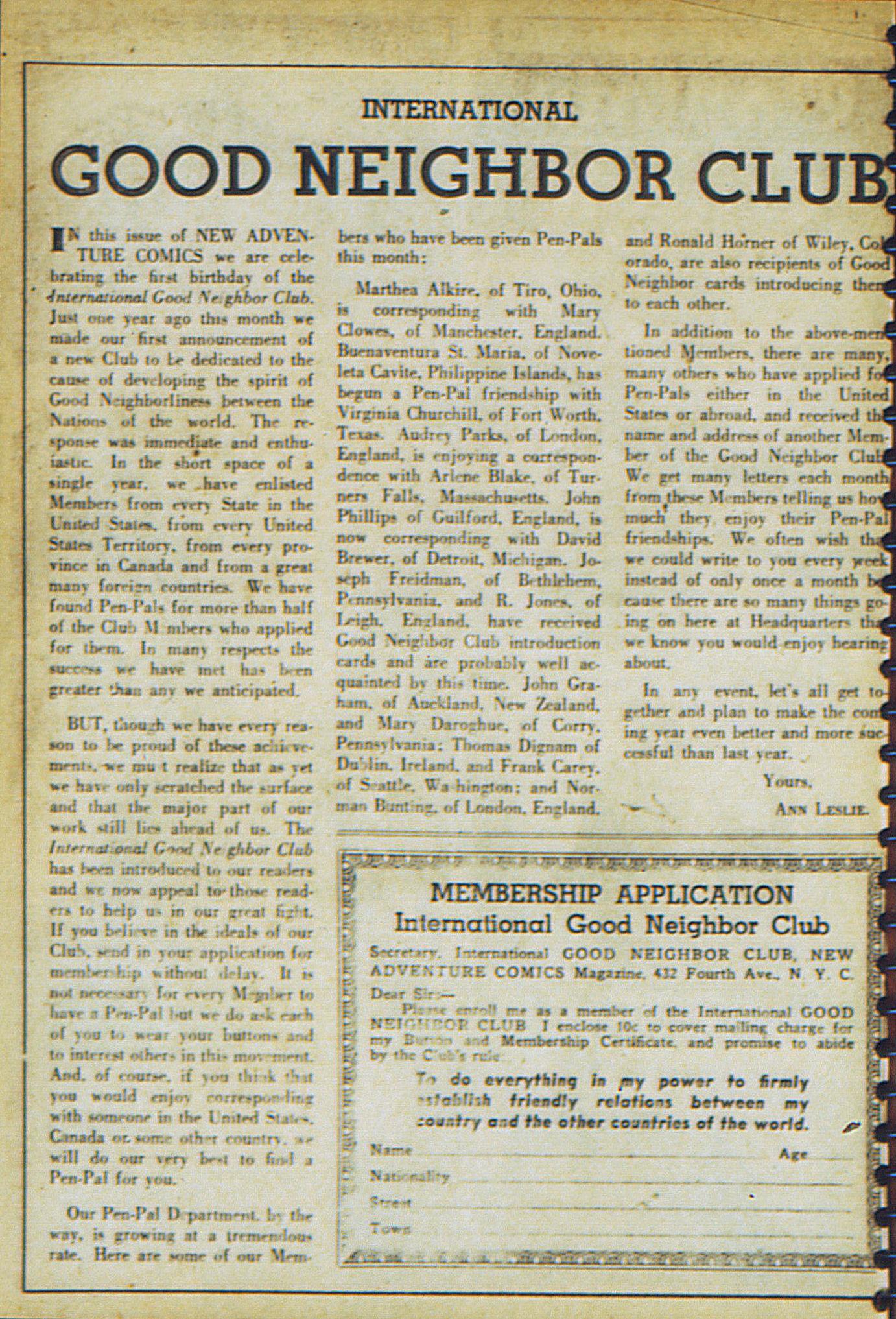 Read online Adventure Comics (1938) comic -  Issue #23 - 58