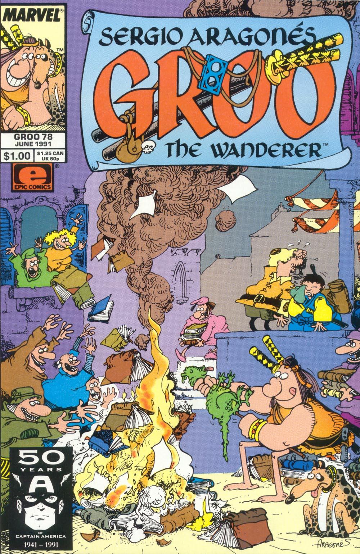 Read online Sergio Aragonés Groo the Wanderer comic -  Issue #78 - 1