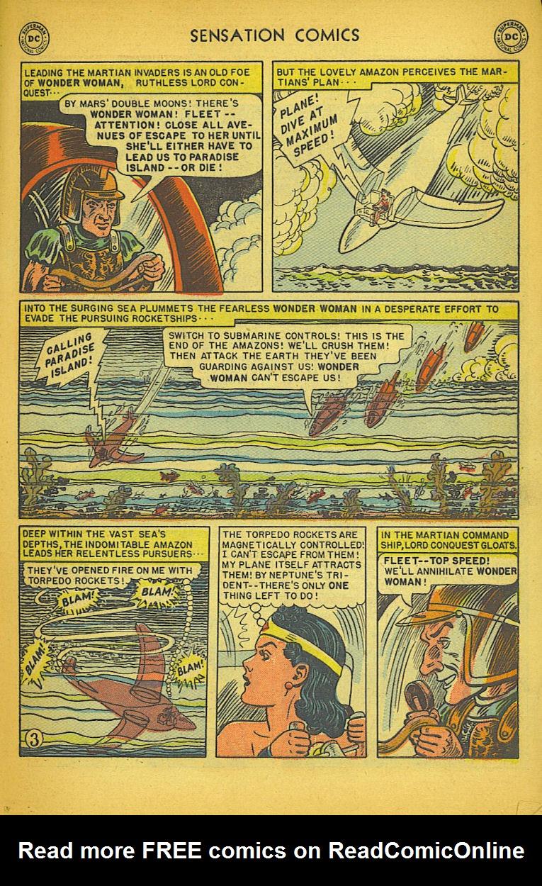 Read online Sensation (Mystery) Comics comic -  Issue #104 - 5