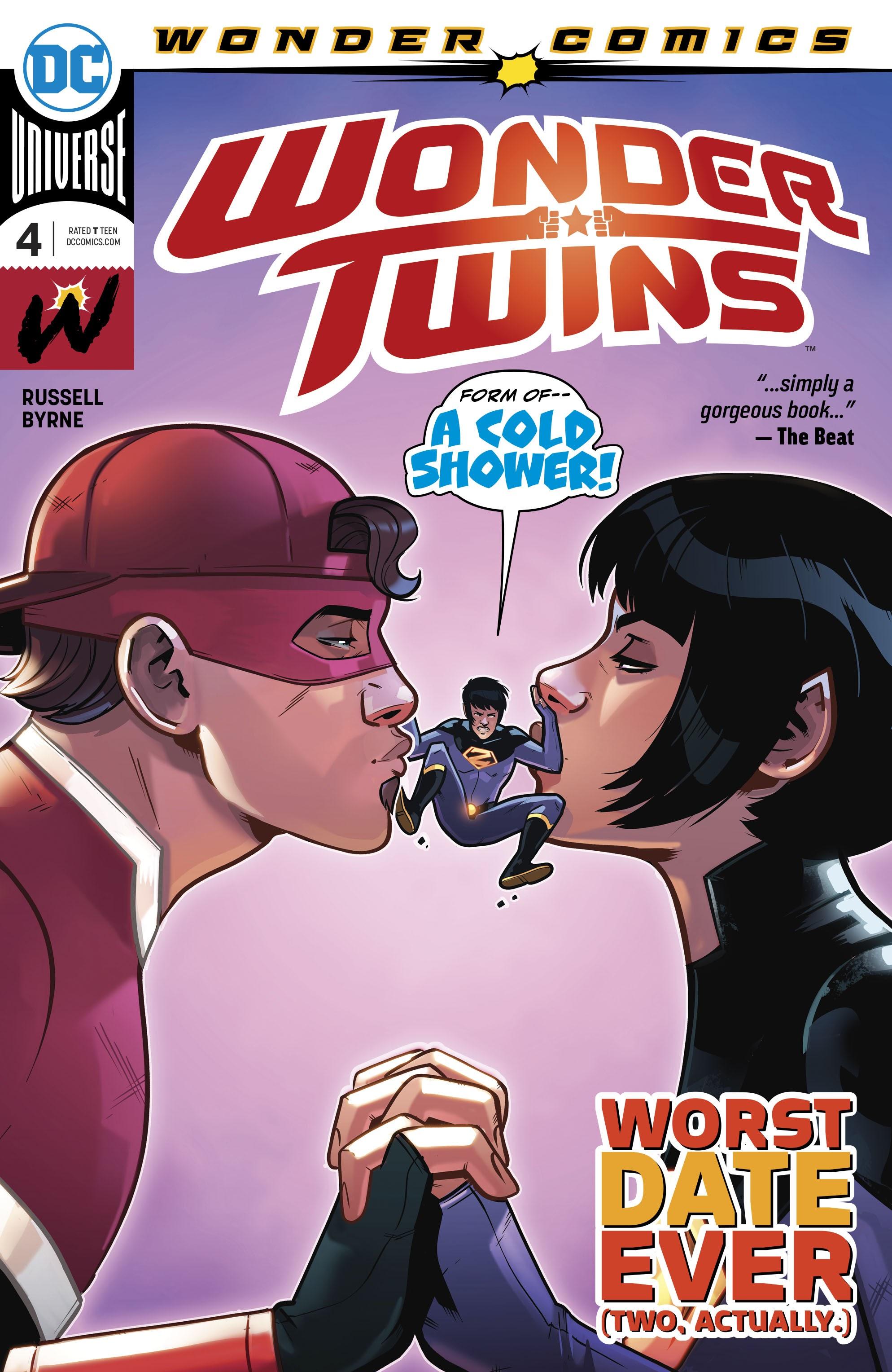 Wonder Twins 4 Page 1