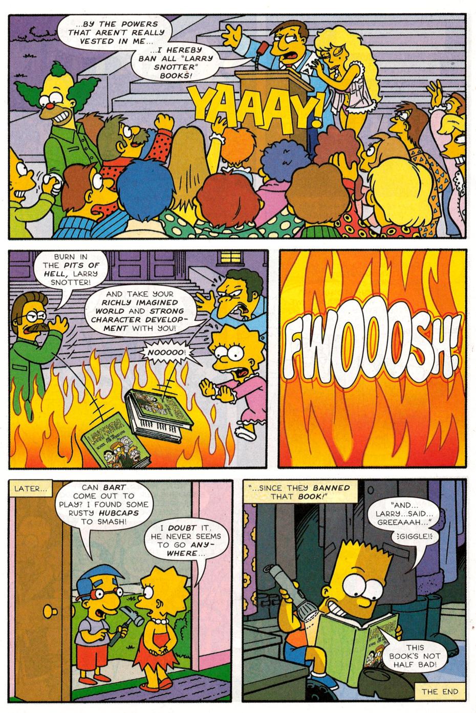 Read online Simpsons Comics Presents Bart Simpson comic -  Issue #30 - 13