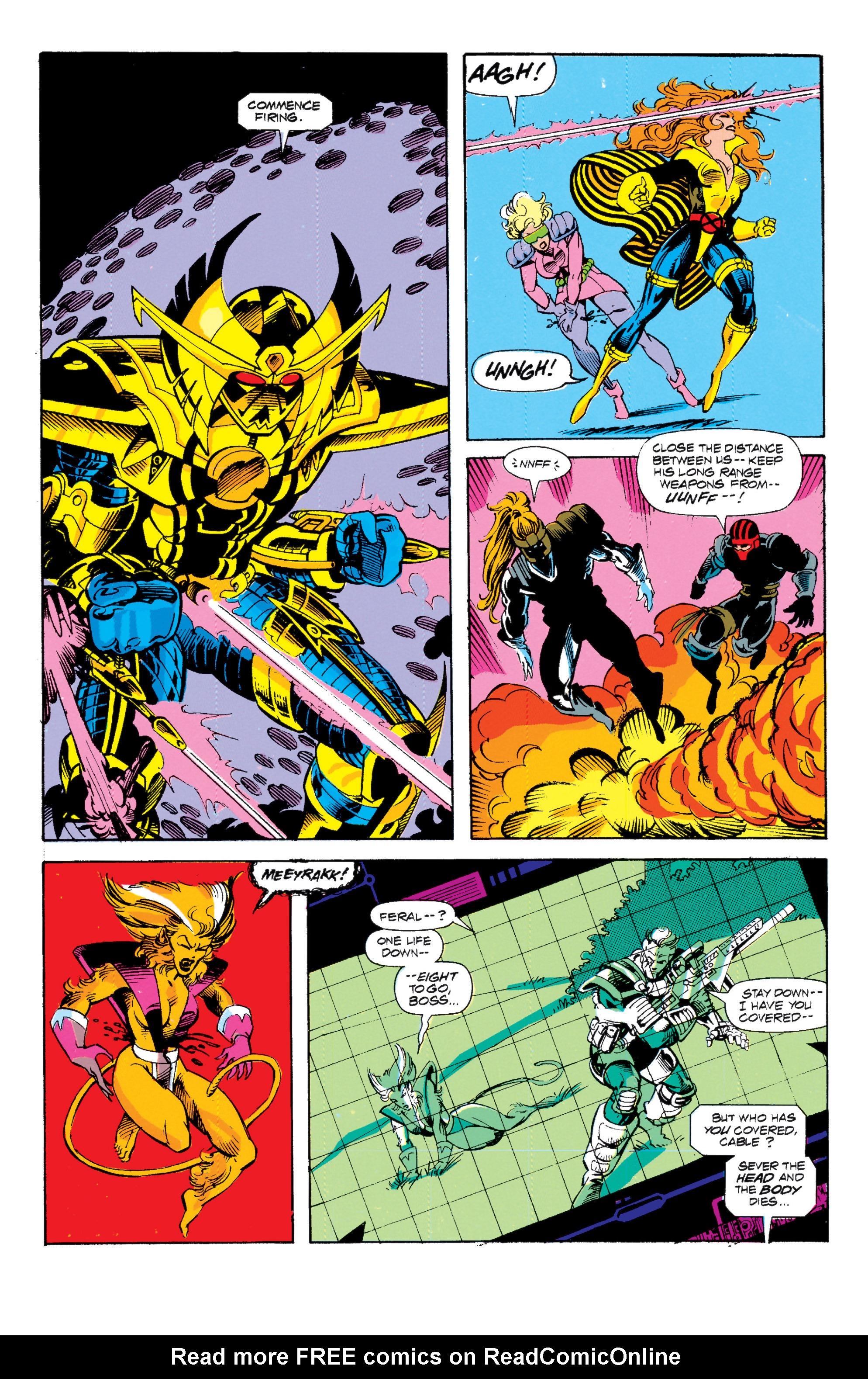 Read online Uncanny X-Men (1963) comic -  Issue # _Annual 15 - 23