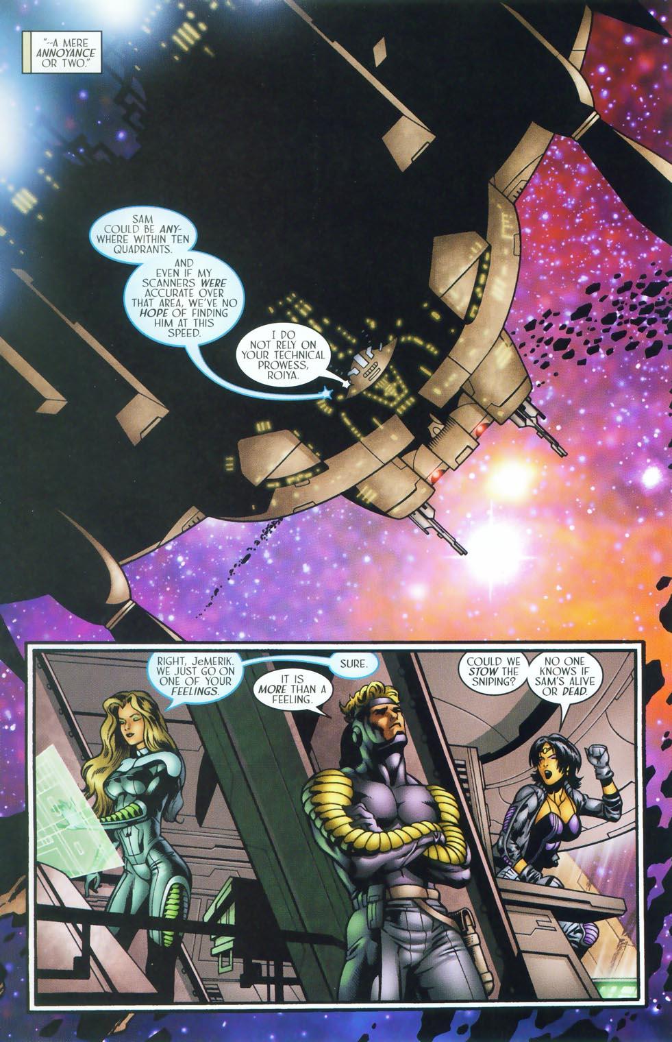 Read online Sigil (2000) comic -  Issue #38 - 6