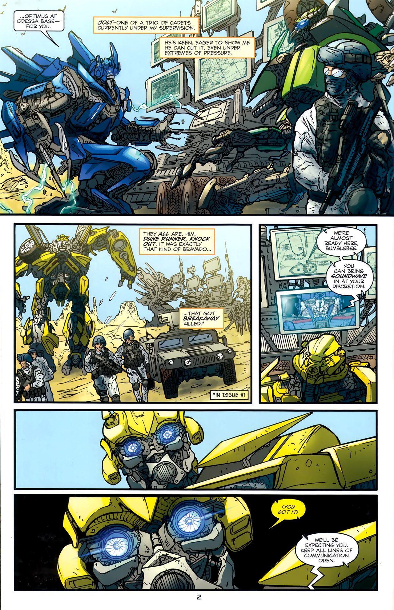 Read online Transformers: Nefarious comic -  Issue #3 - 5