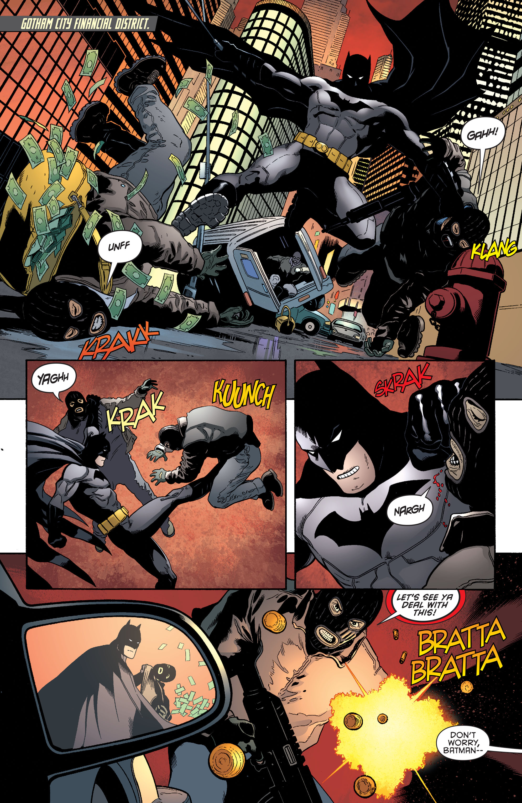 Read online Batman and Robin (2011) comic -  Issue #38 - 4